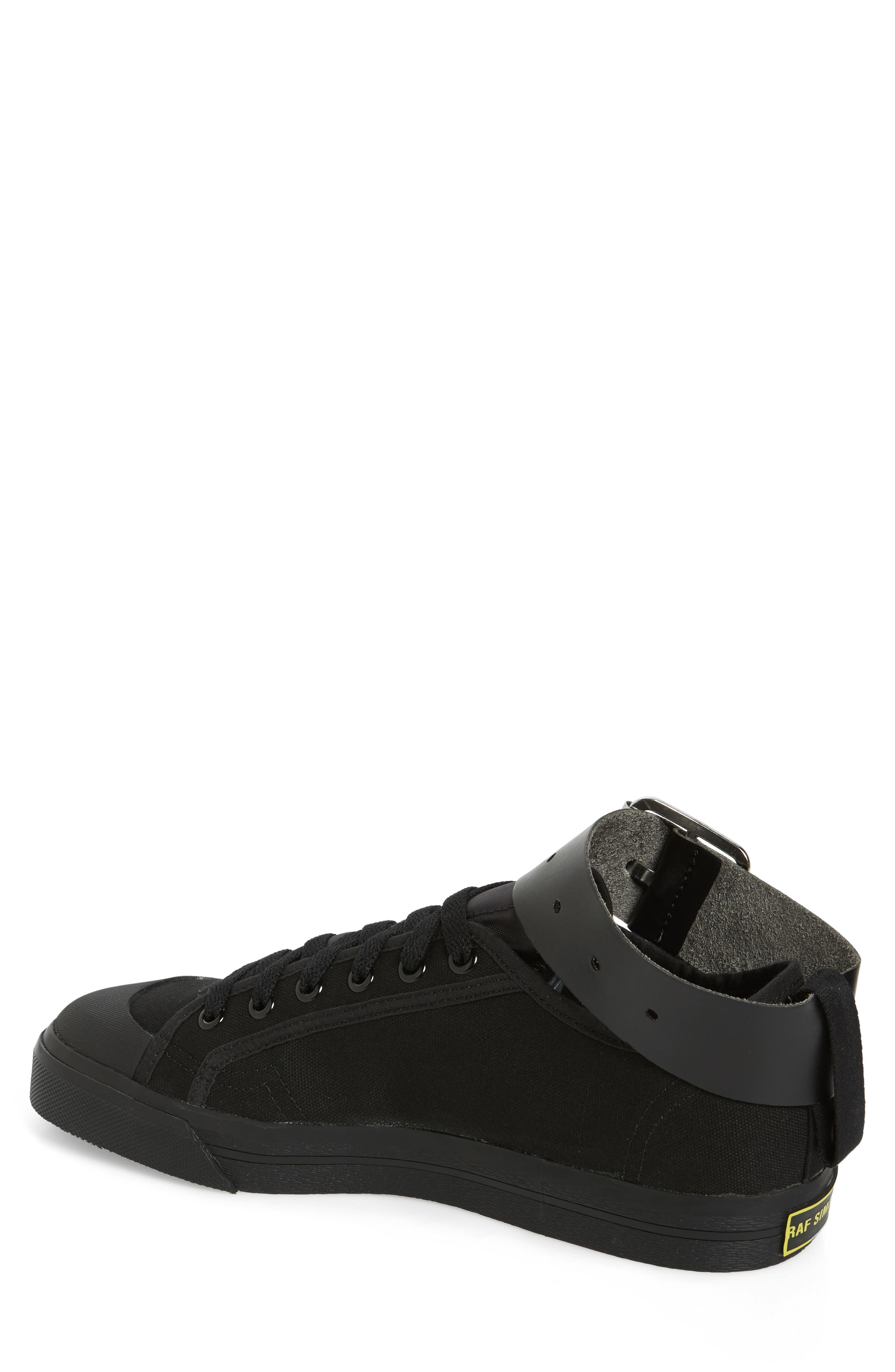 RAF SIMONS,                             adidas by Raf Simons Spirit Ankle Strap Sneaker,                             Alternate thumbnail 2, color,                             001