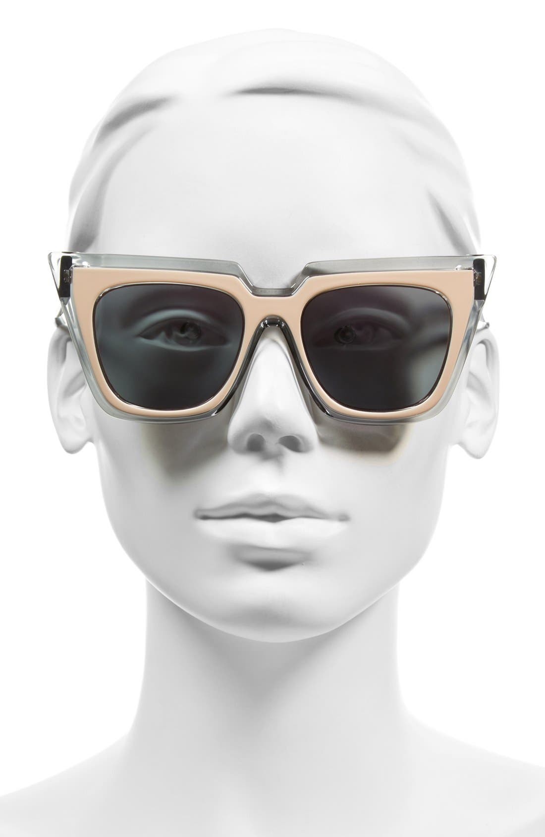'Edition One' 51mm Sunglasses,                             Alternate thumbnail 8, color,