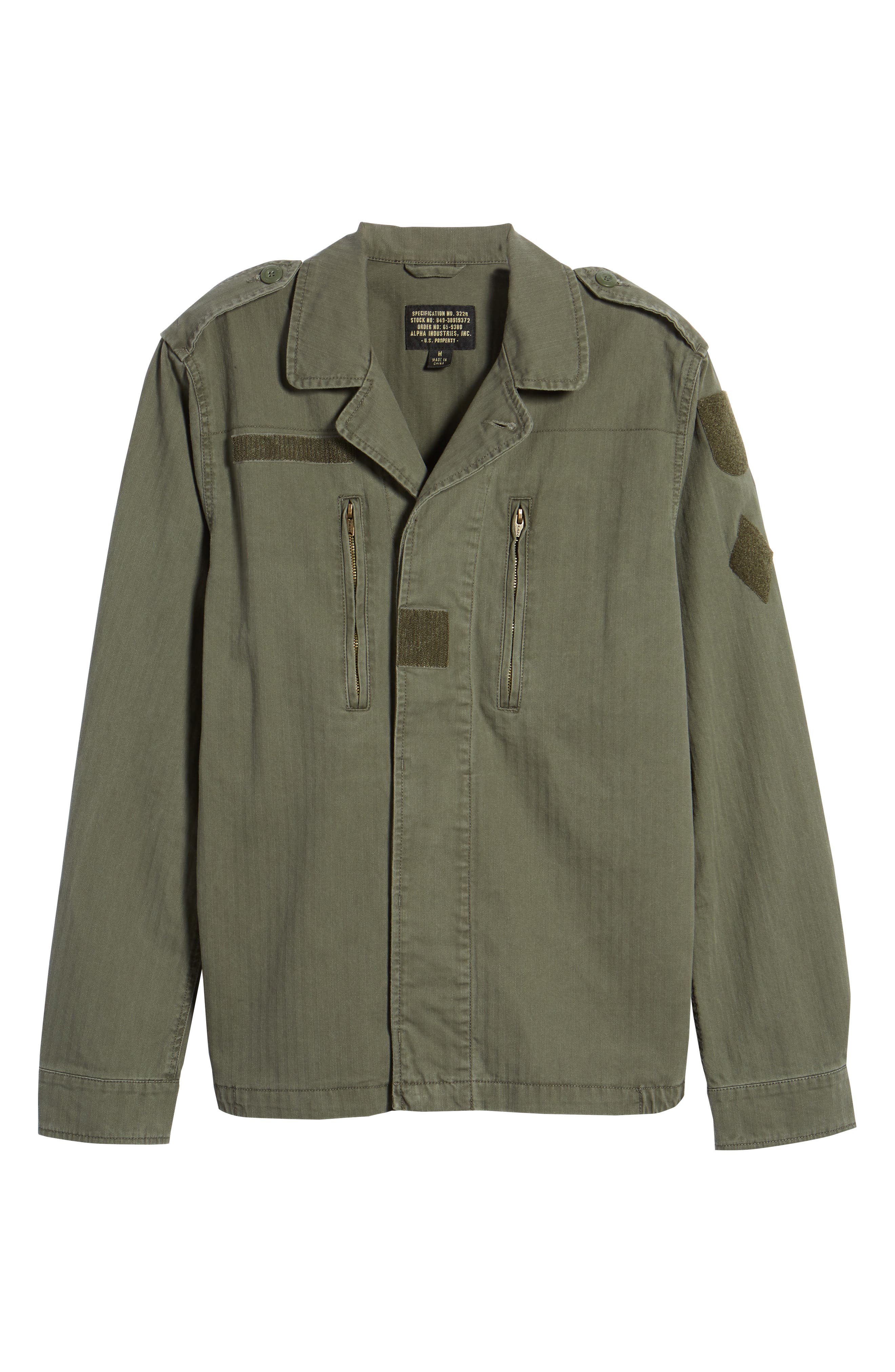 F-2 French Field Jacket,                             Alternate thumbnail 5, color,                             300