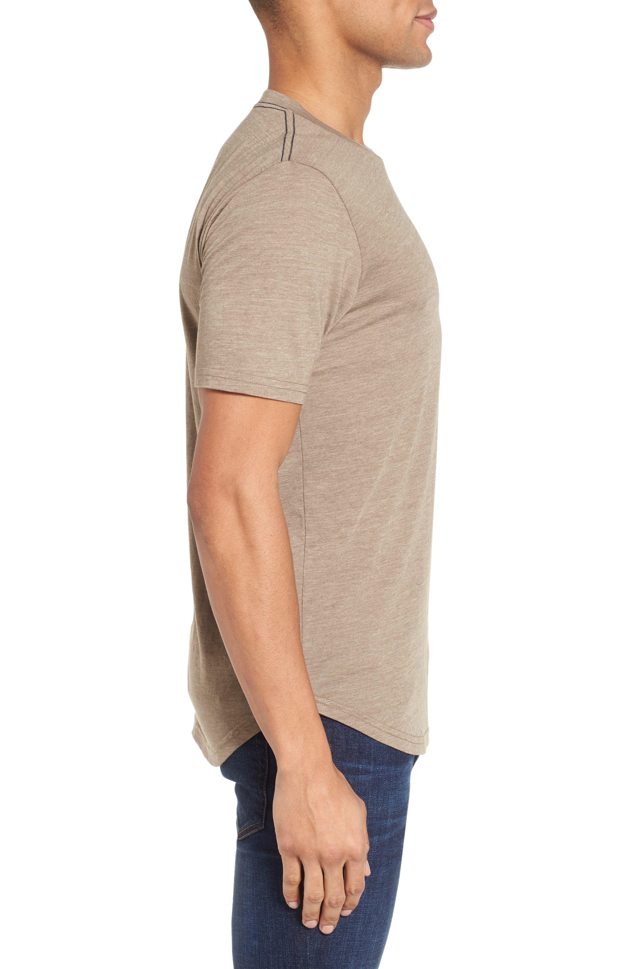 Scallop Triblend Crewneck T-Shirt,                             Alternate thumbnail 49, color,