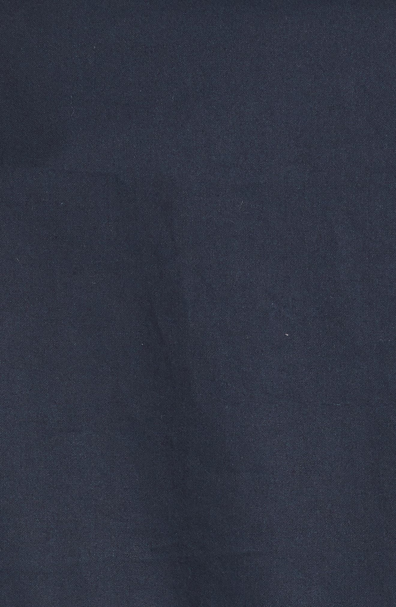 Coated Cotton Caban,                             Alternate thumbnail 6, color,
