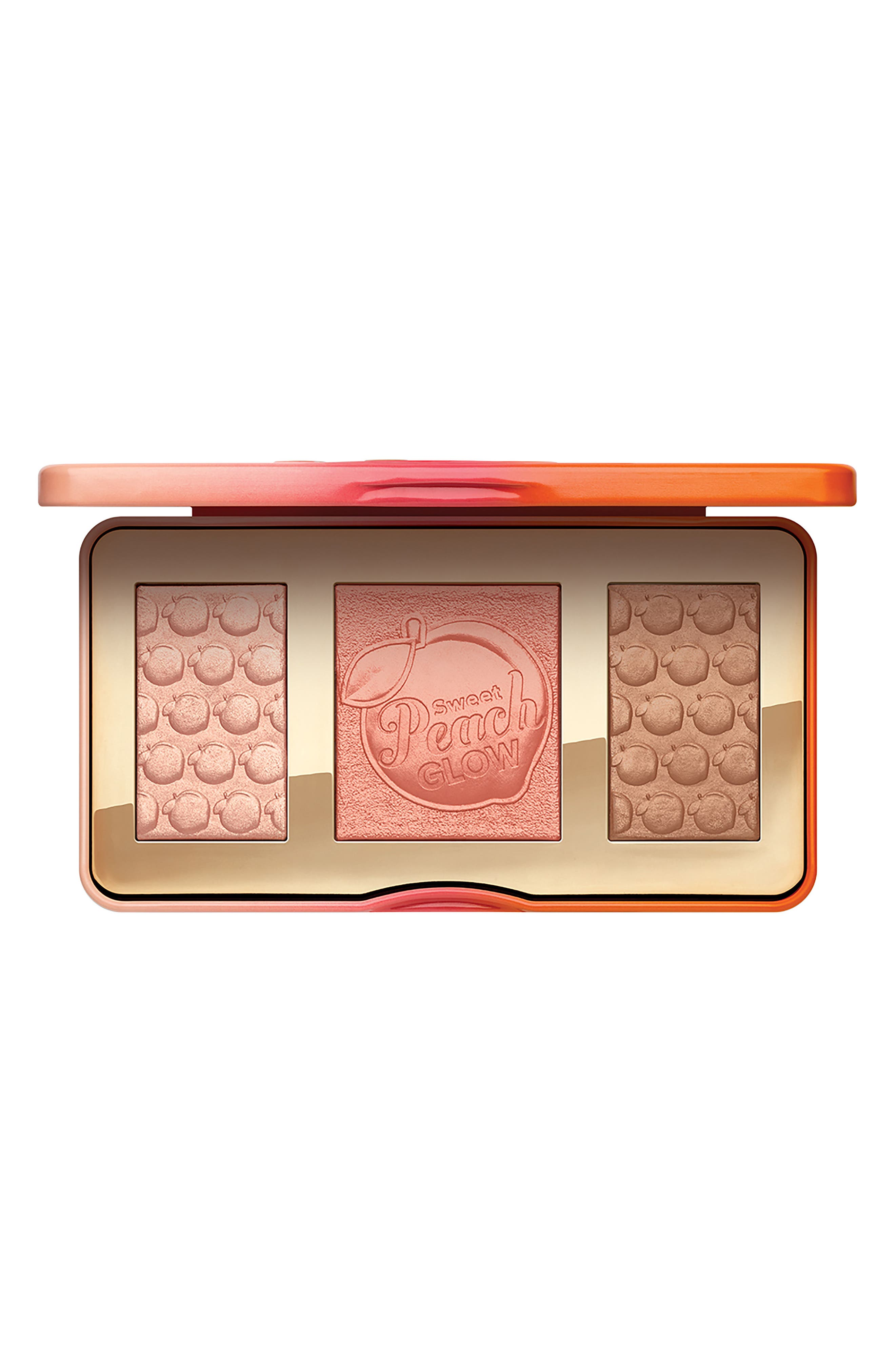Sweet Peach Glow Highlighting Palette,                         Main,                         color, NO COLOR