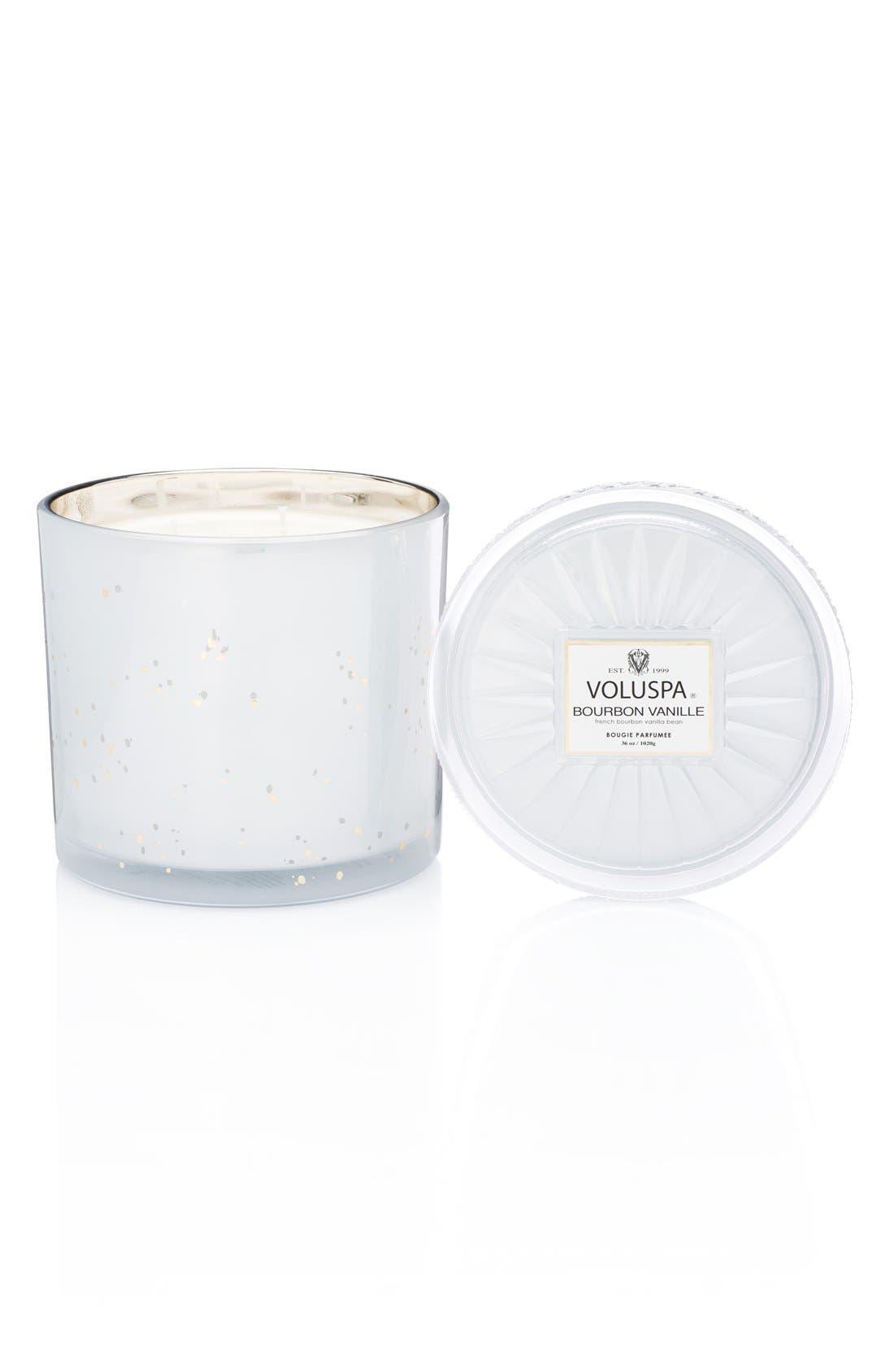 'Vermeil - French Bourbon Vanille' GrandeMaisonCandle,                         Main,                         color, 000