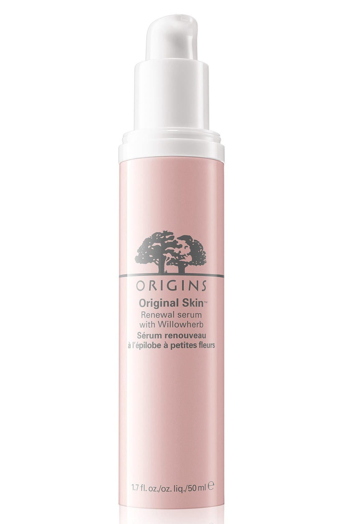 Original Skin<sup>™</sup> Renewal Serum with Willowherb,                             Main thumbnail 1, color,                             NO COLOR