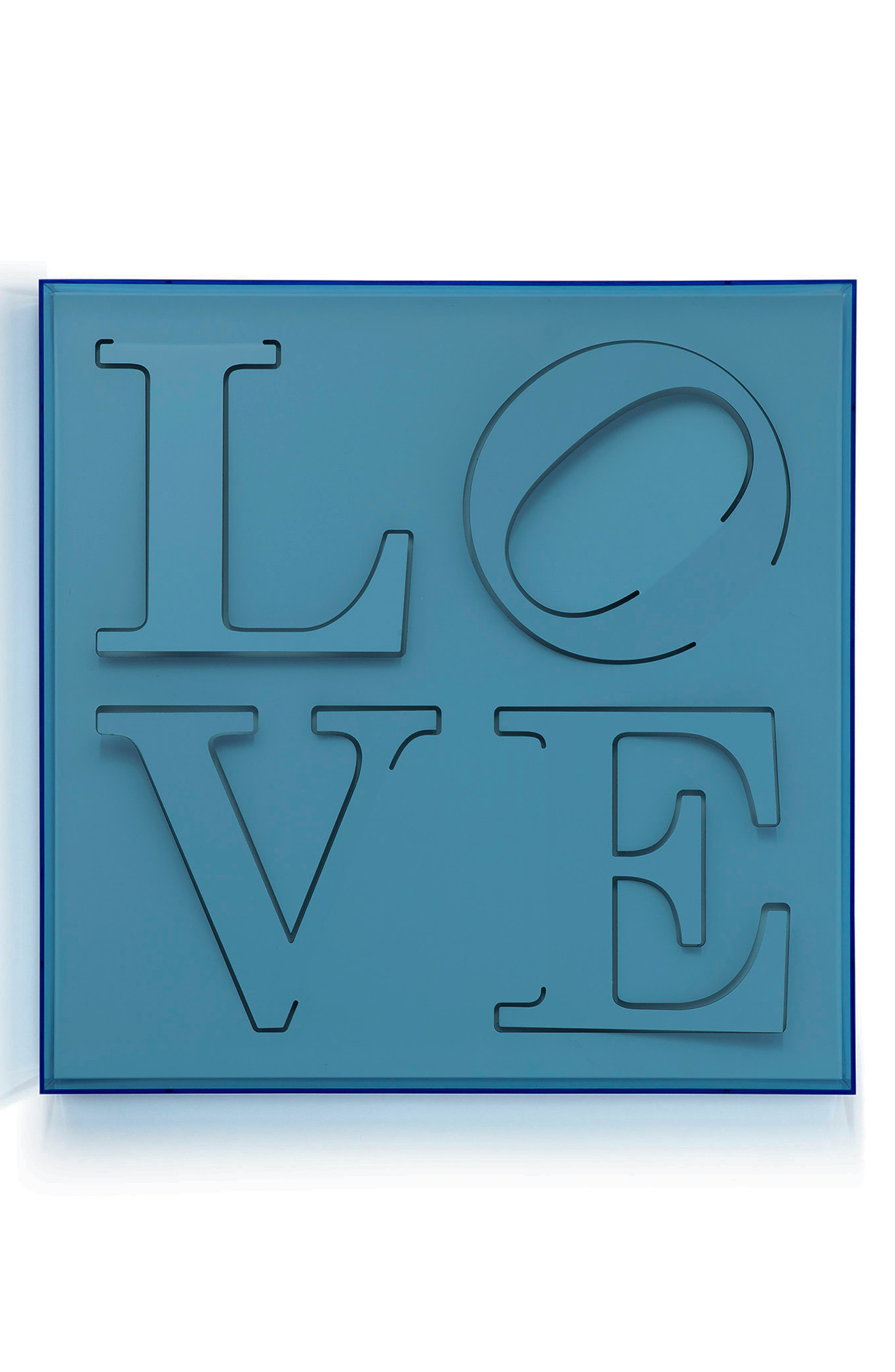 Love Wall Art, Main, color, BLUE
