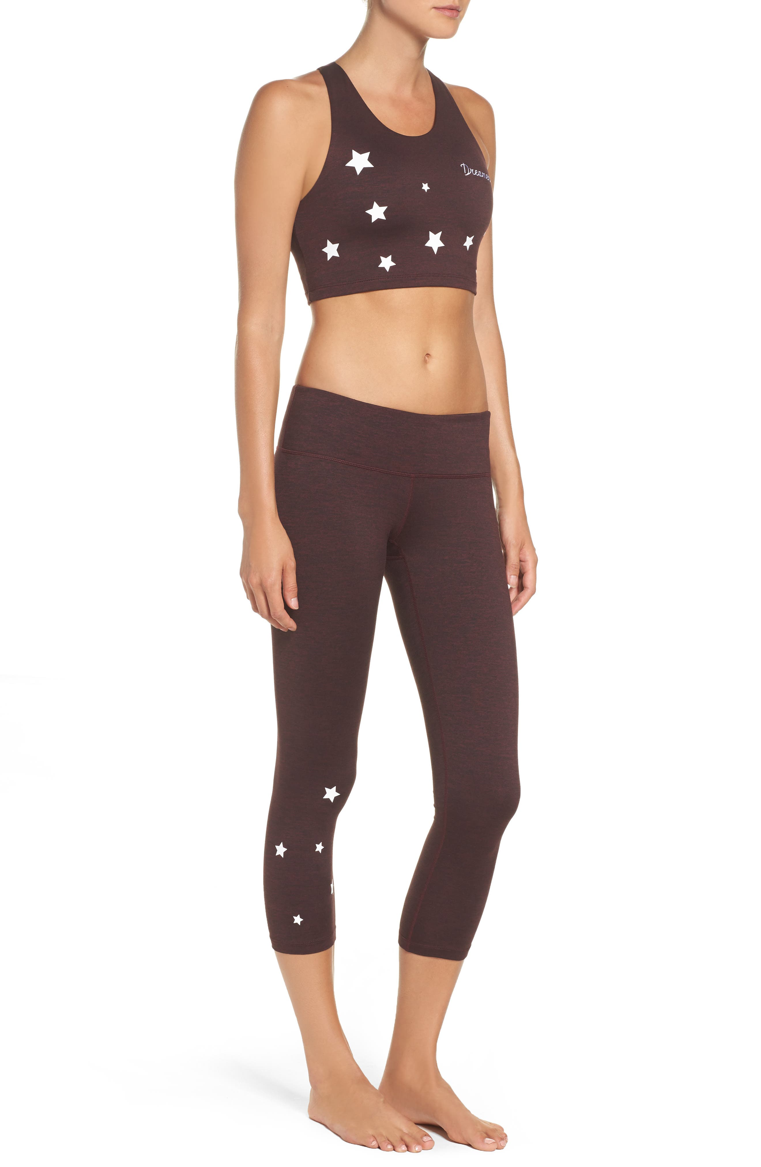 Stars Power Crop Leggings,                             Alternate thumbnail 10, color,                             602