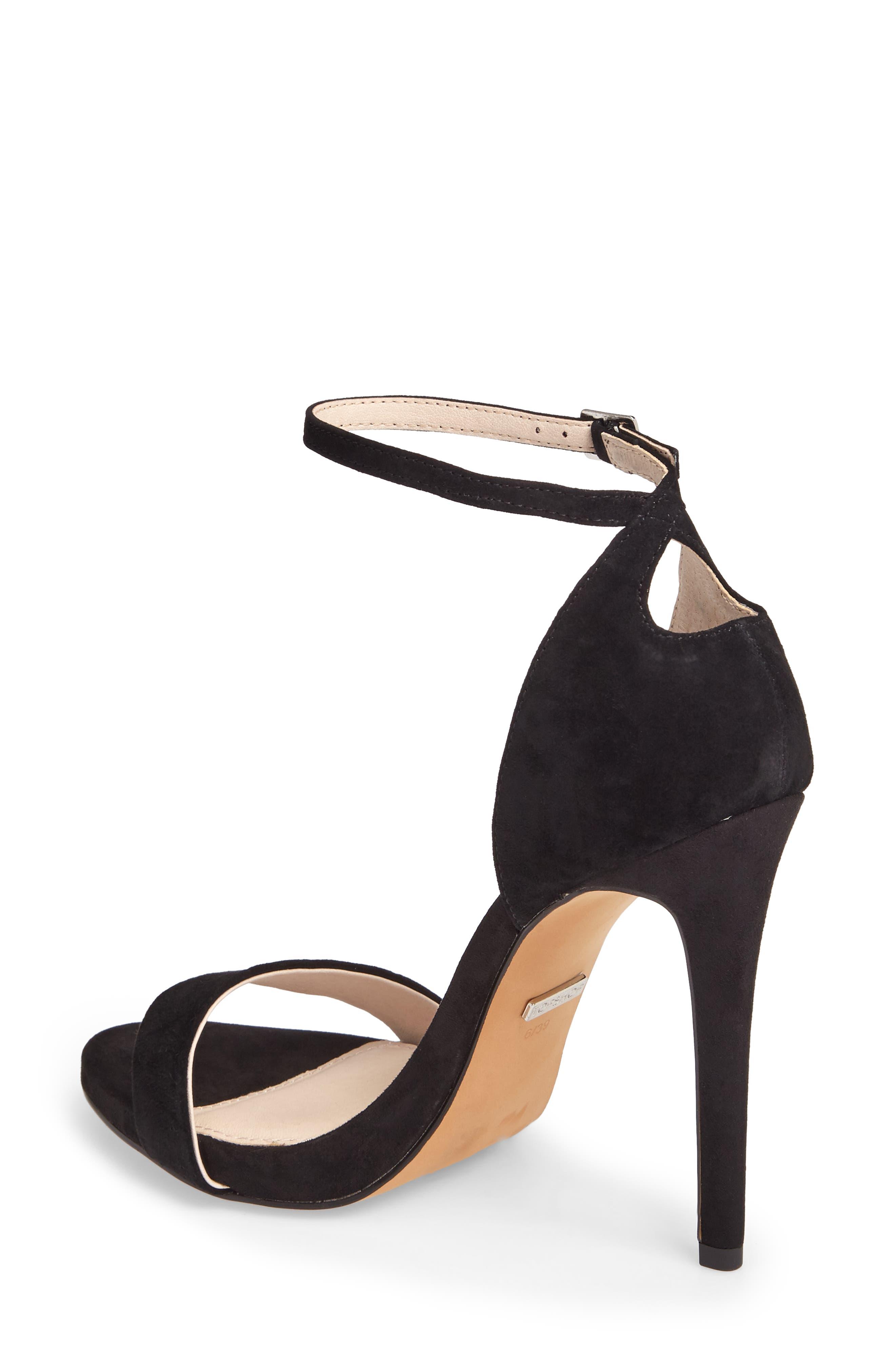 Raphie Ankle Strap Sandal,                             Alternate thumbnail 2, color,                             001