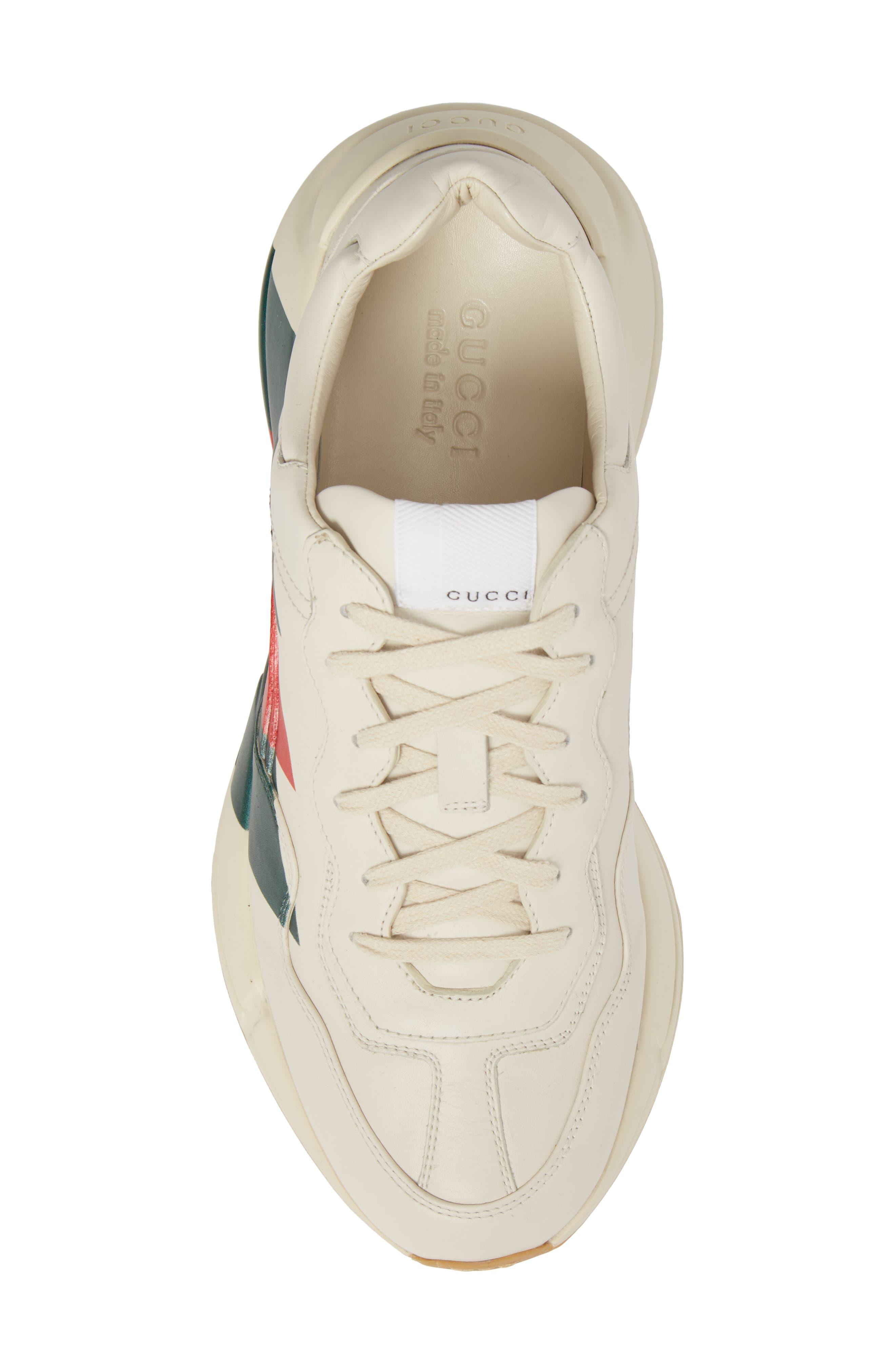 Rhyton Sneaker,                             Alternate thumbnail 5, color,                             MYSTIC WHITE