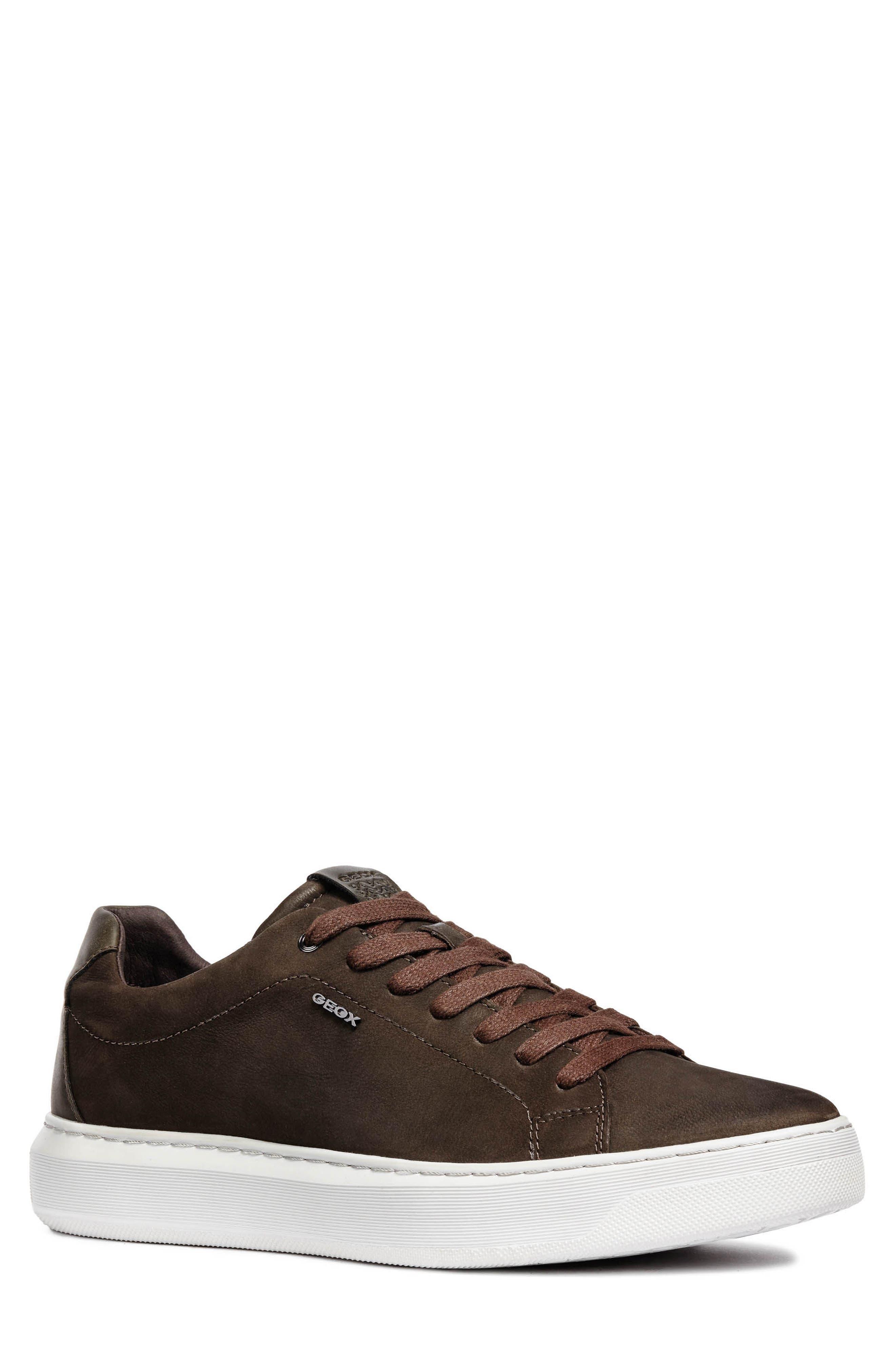 Geox Deiven 5 Low Top Sneaker, Brown