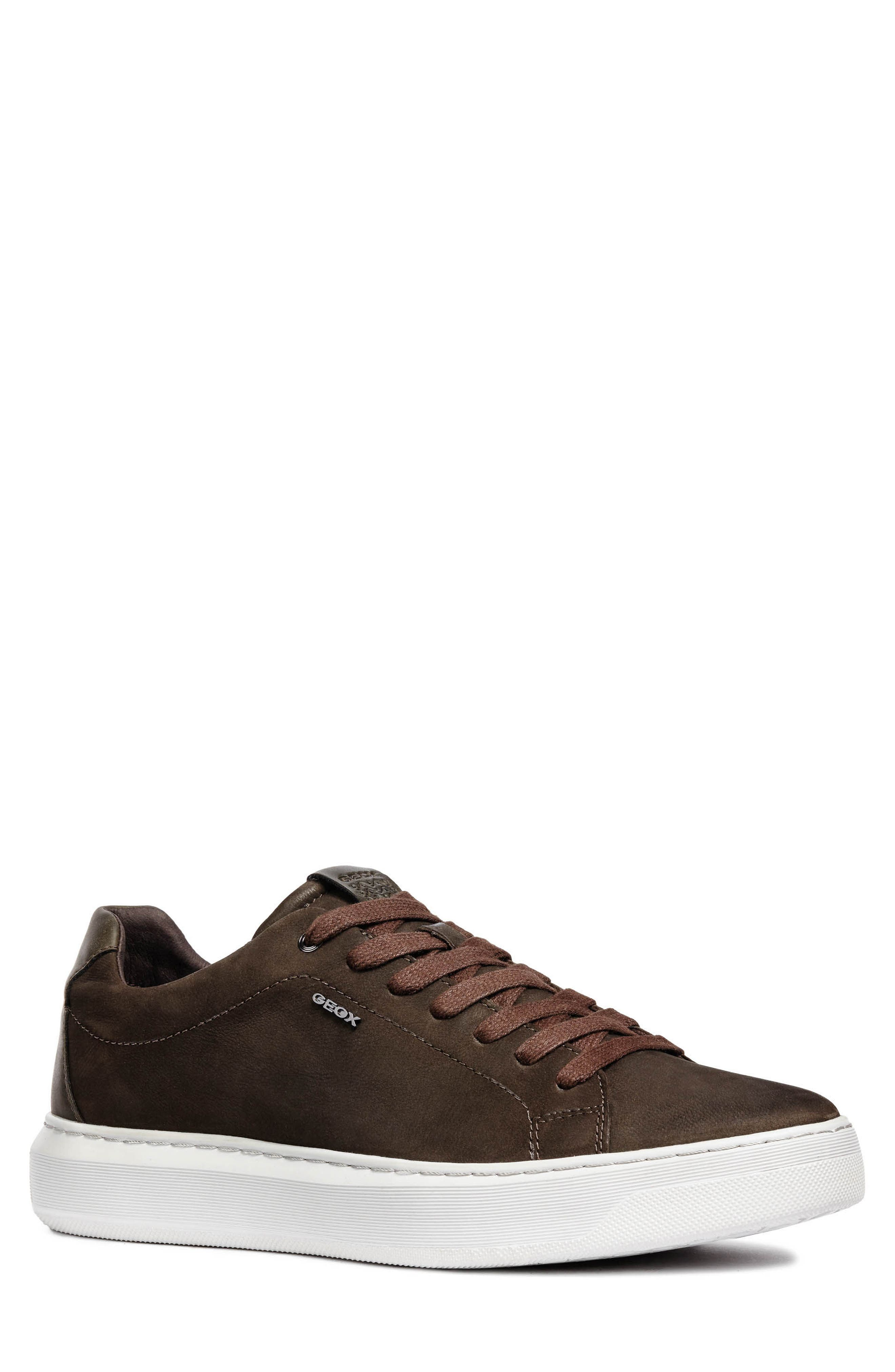 Deiven 5 Low Top Sneaker,                             Main thumbnail 1, color,                             DARK COFFEE LEATHER