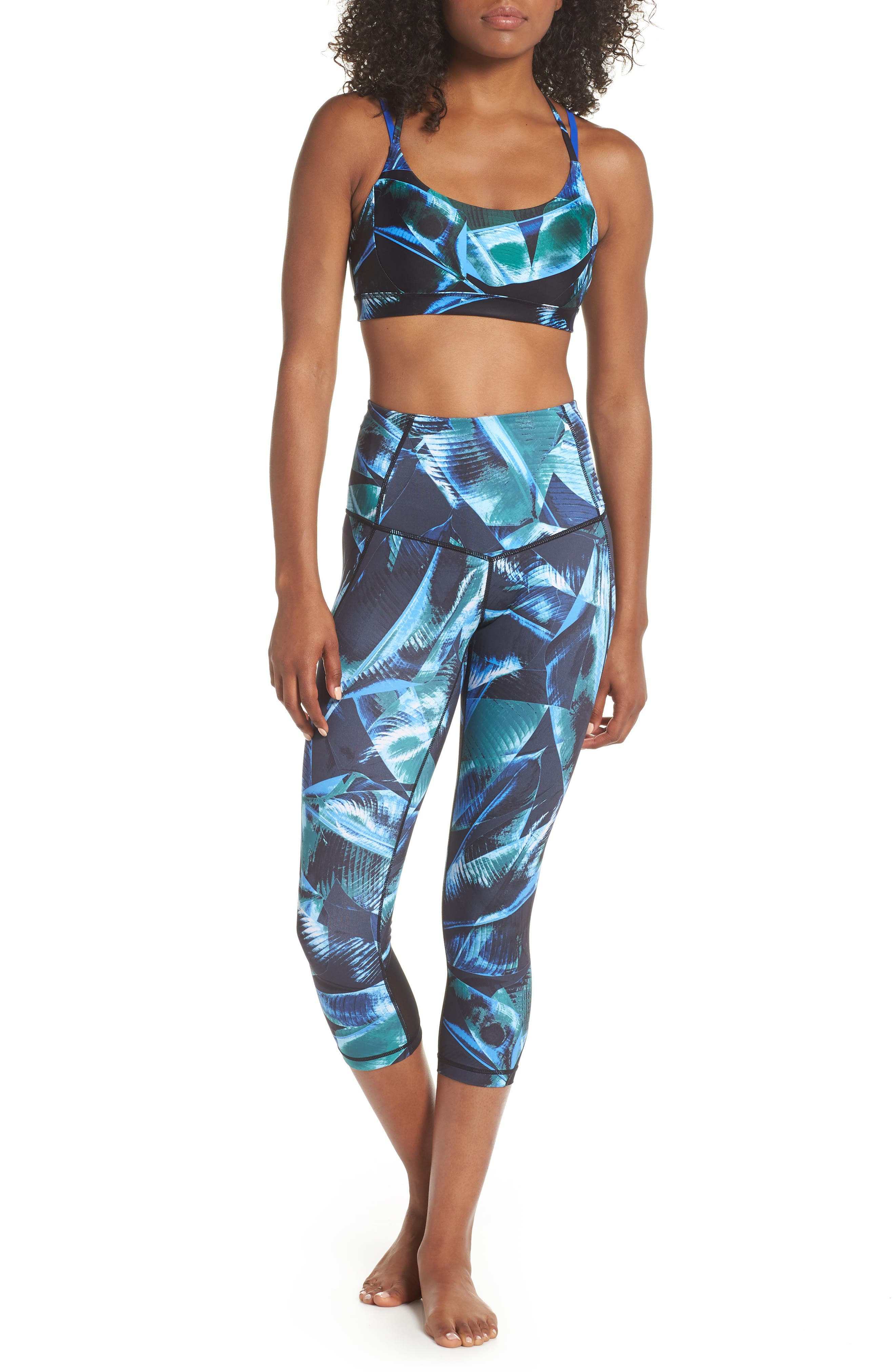 So Hot Print Sports Bra,                             Alternate thumbnail 8, color,                             310