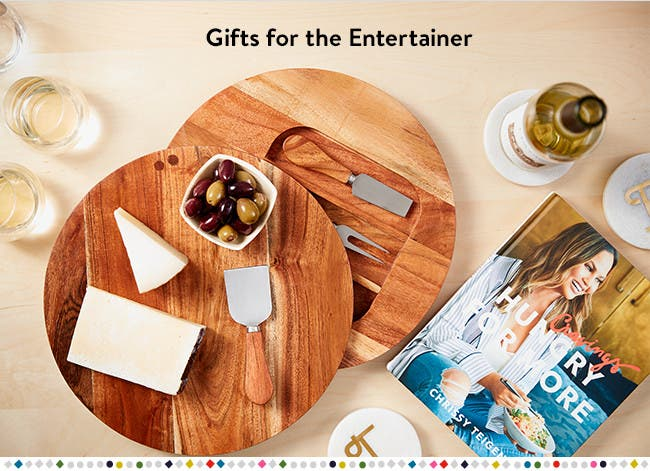 Gifts for the entertainer.