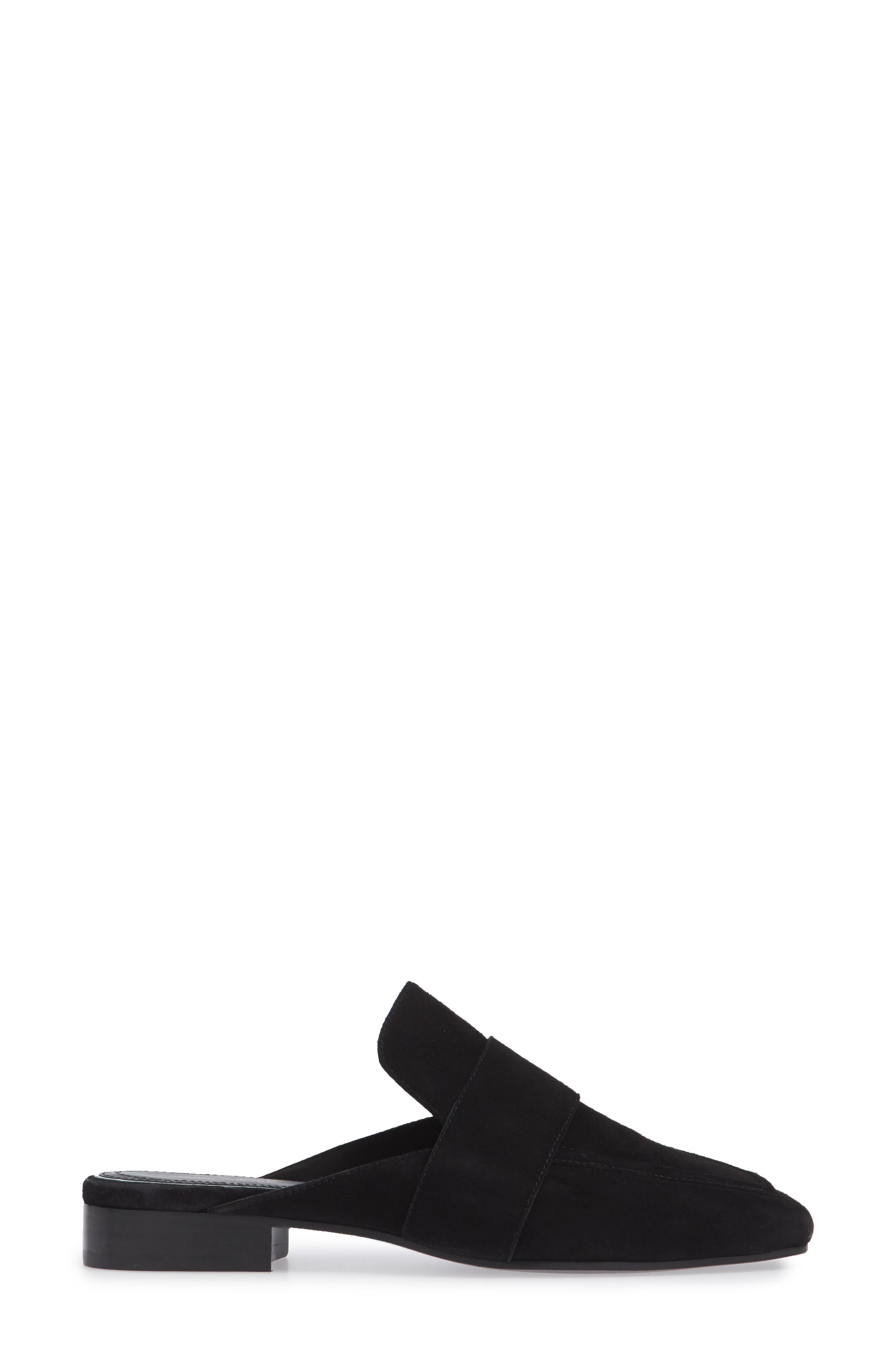 Aslen Loafer Mule,                             Alternate thumbnail 3, color,                             008