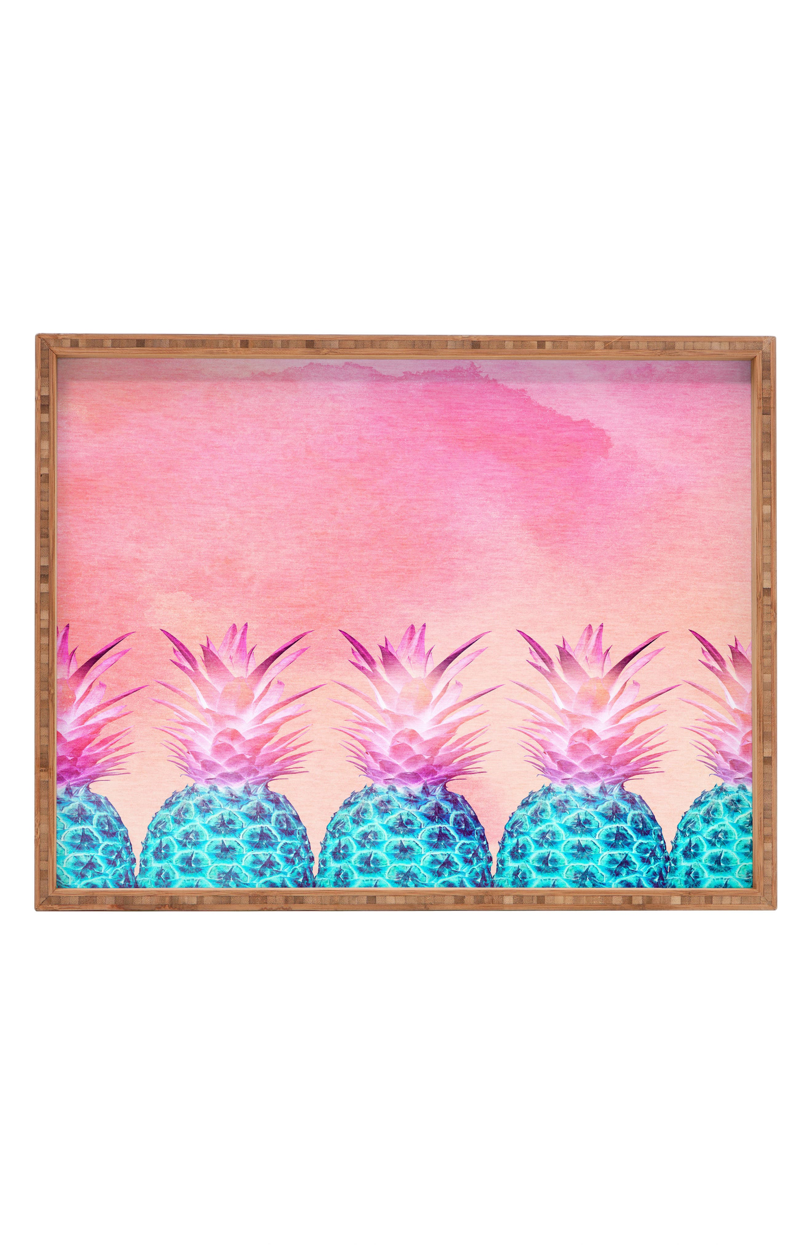Pineapple Farm Serving Tray,                             Main thumbnail 1, color,