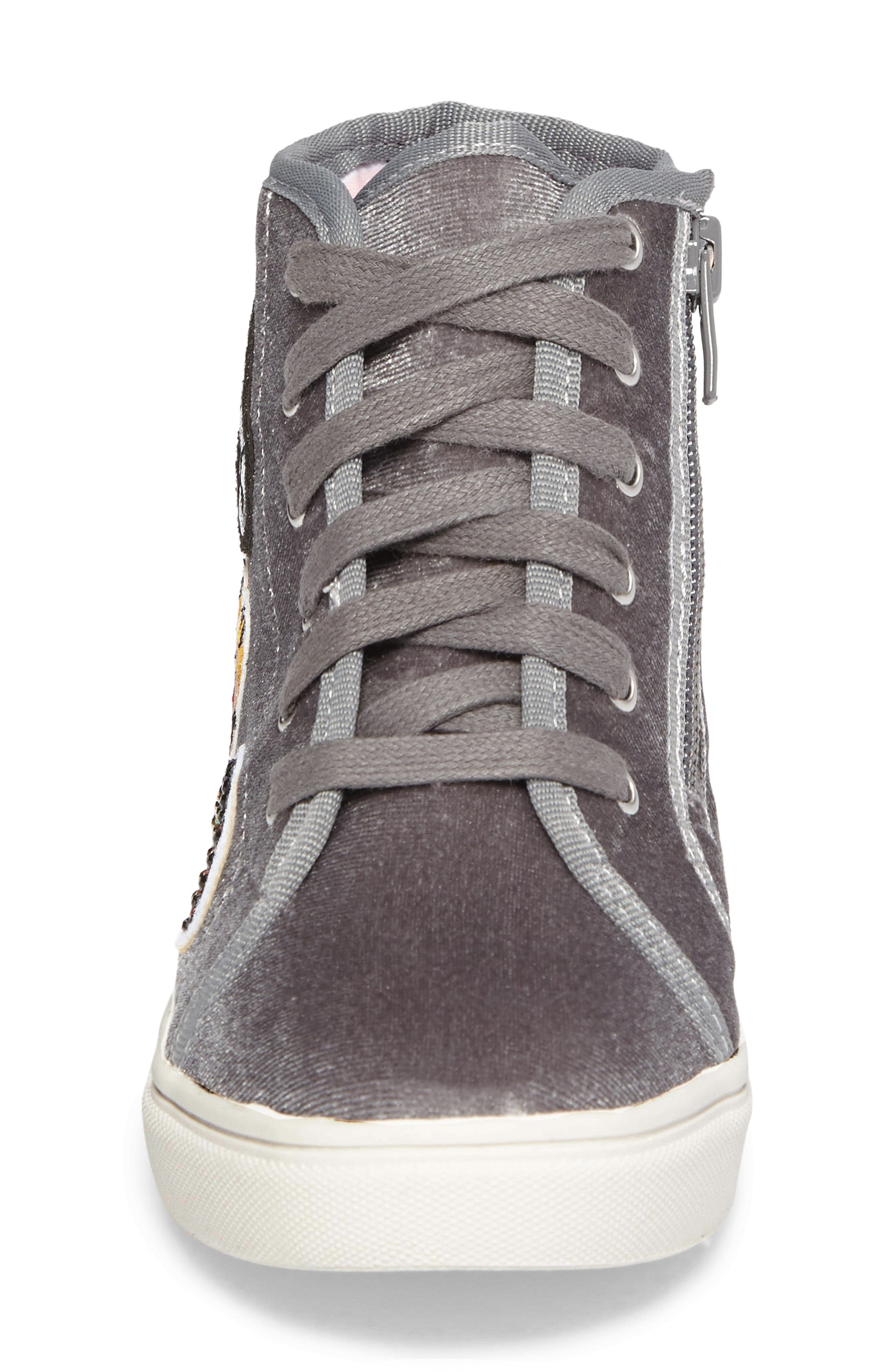 J-BFF High Top Sneaker,                             Alternate thumbnail 4, color,                             055