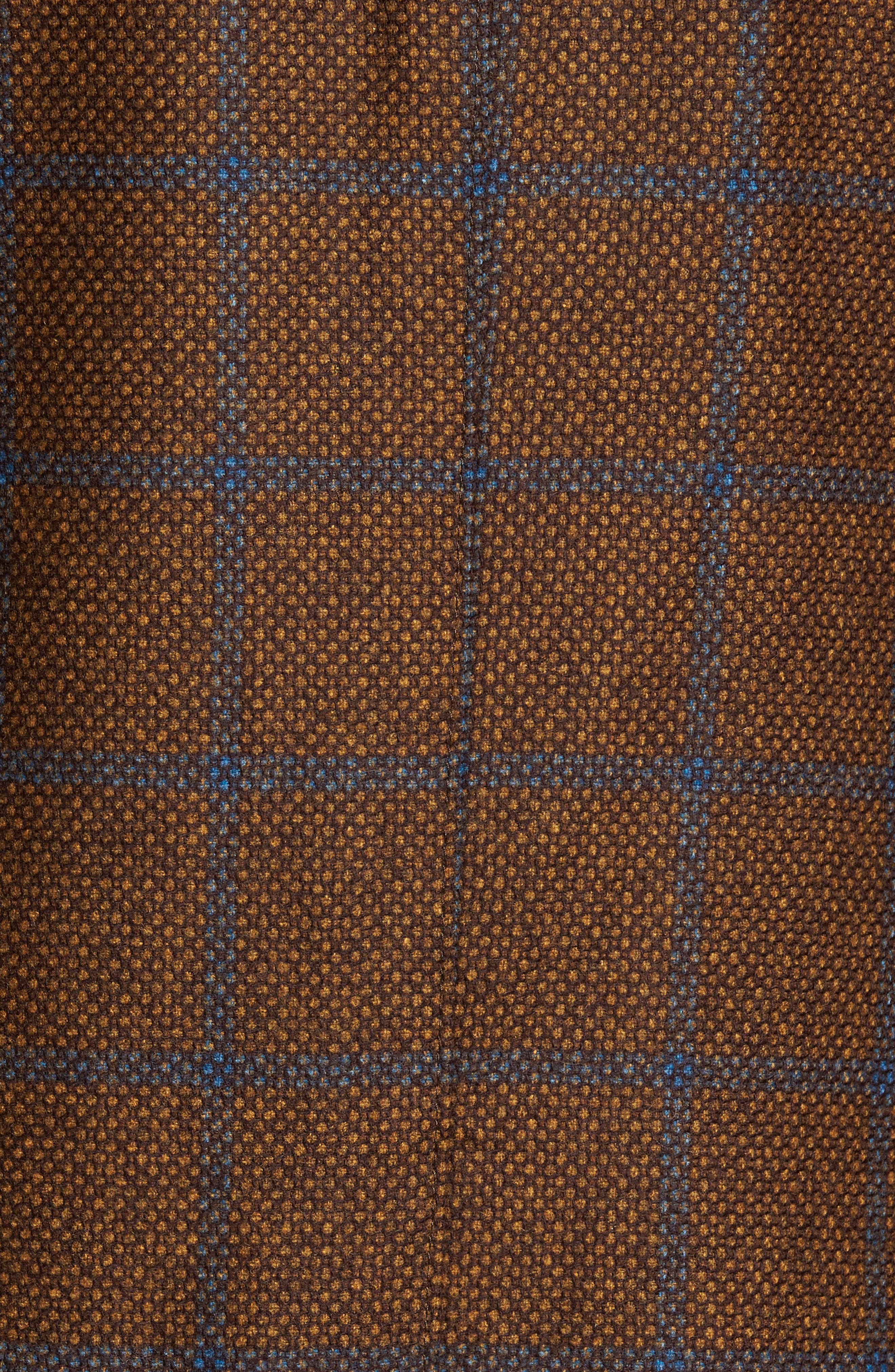 Classic Fit Windowpane Wool Sport Coat,                             Alternate thumbnail 6, color,                             220