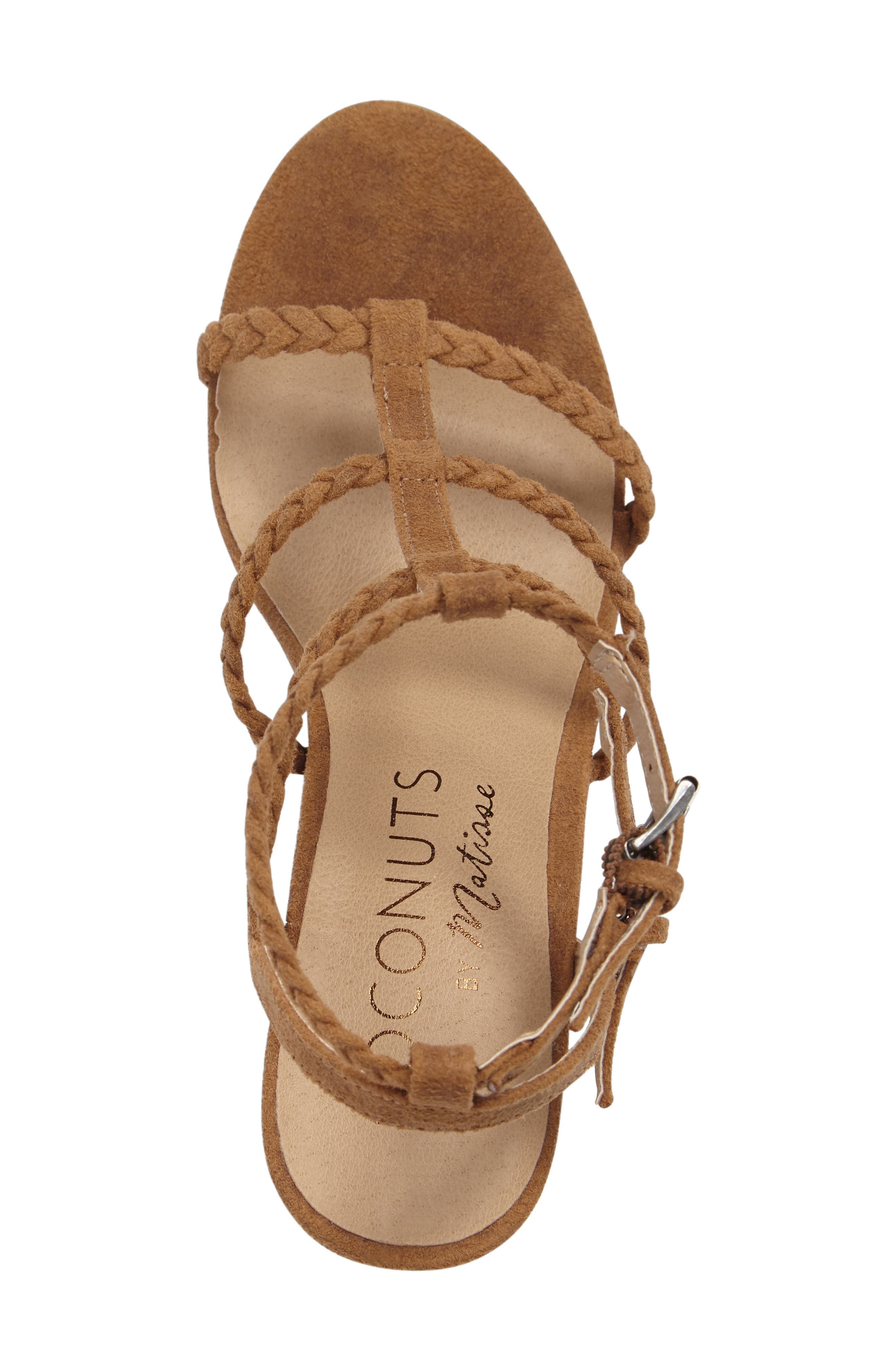 Coconuts by Matisse Cora Sandal,                             Alternate thumbnail 3, color,                             287