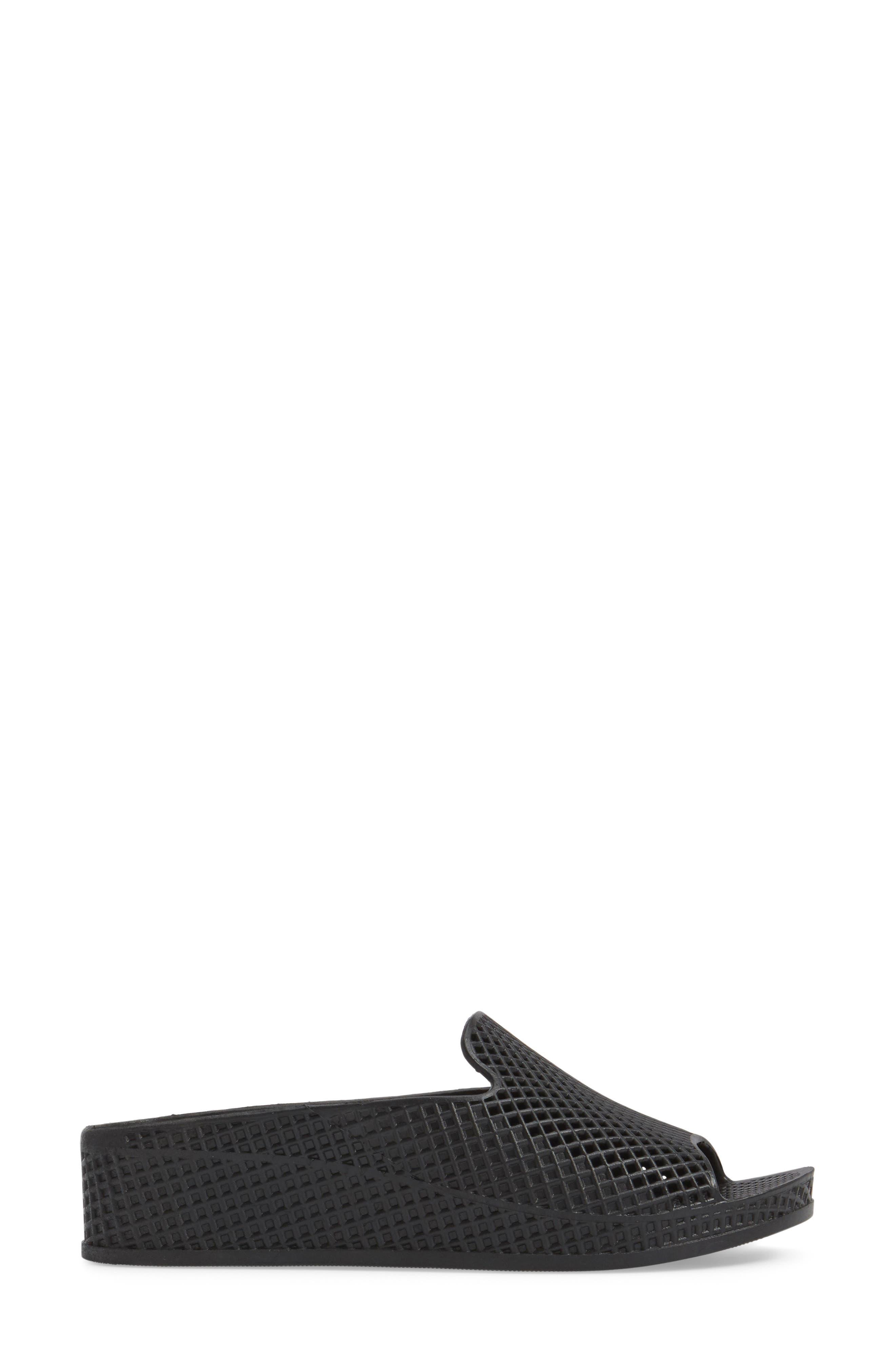 JEFFREY CAMPBELL,                             Fling 2 Sandal,                             Alternate thumbnail 3, color,                             BLACK