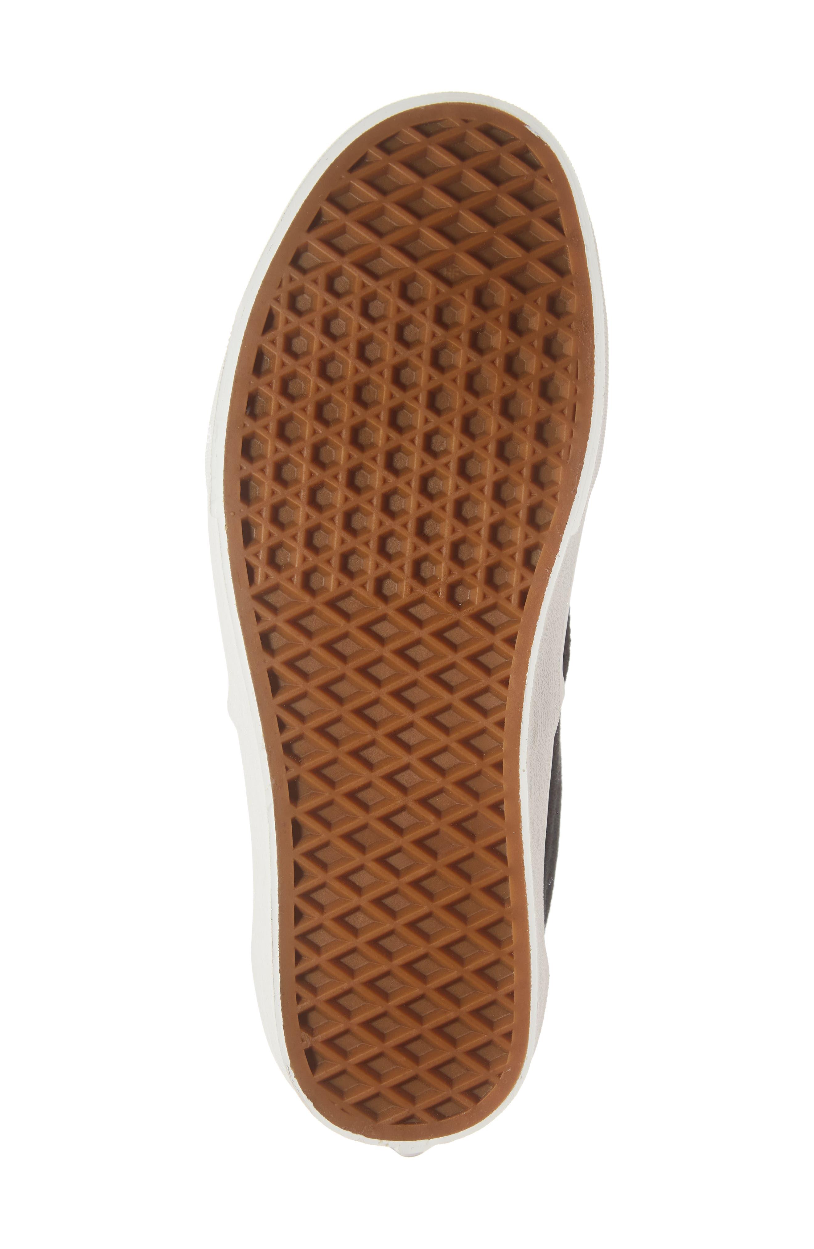 Flannel Era Sneaker,                             Alternate thumbnail 6, color,                             BLACK FLANNEL FLANNEL
