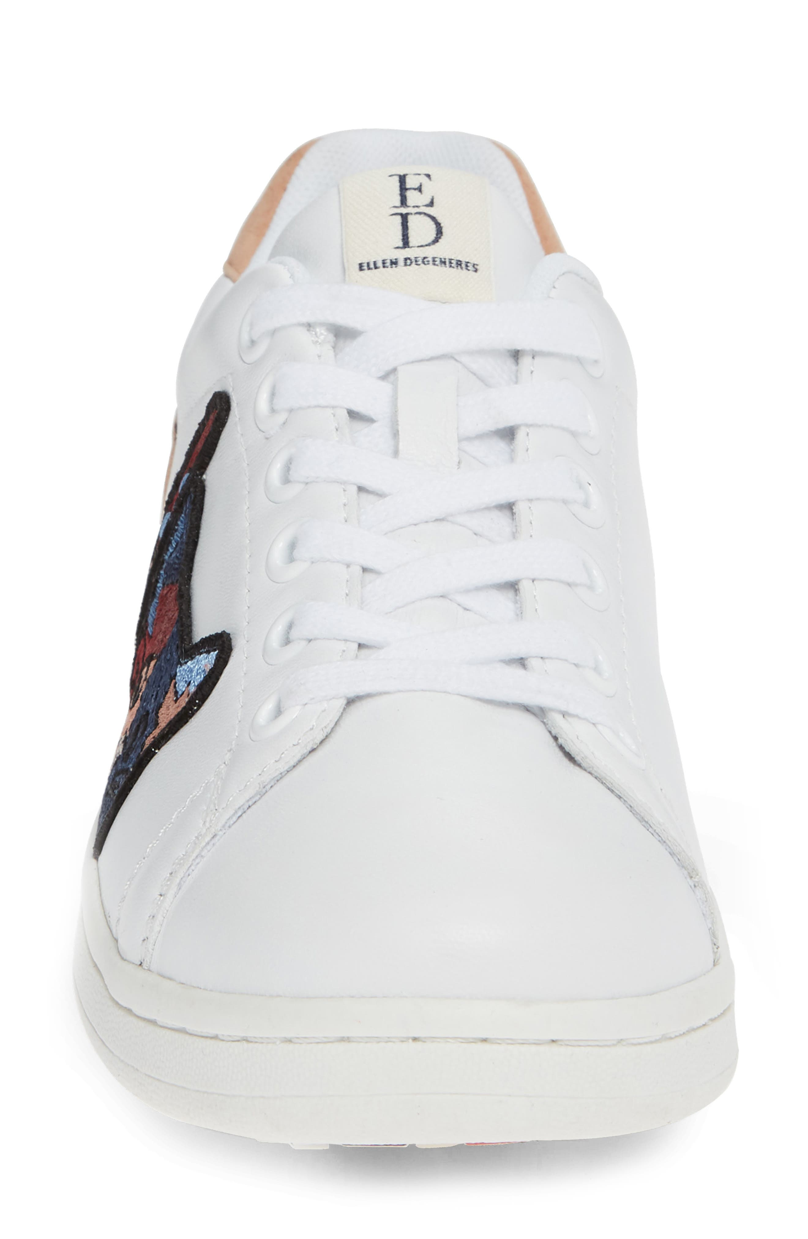 Chapatcha Sneaker,                             Alternate thumbnail 4, color,                             PURE WHITE FABRIC