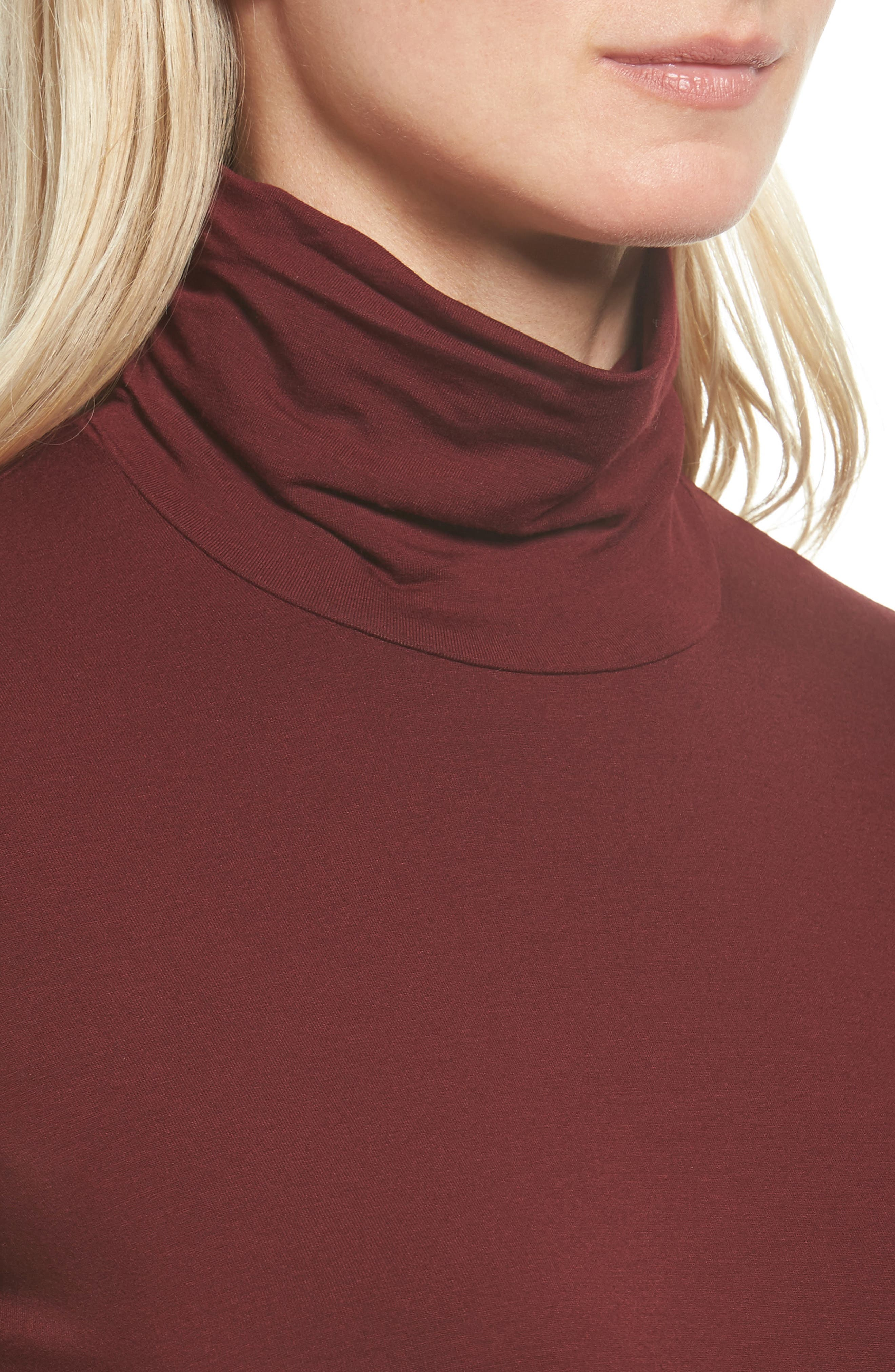 Scrunch Neck Jersey Top,                             Alternate thumbnail 20, color,