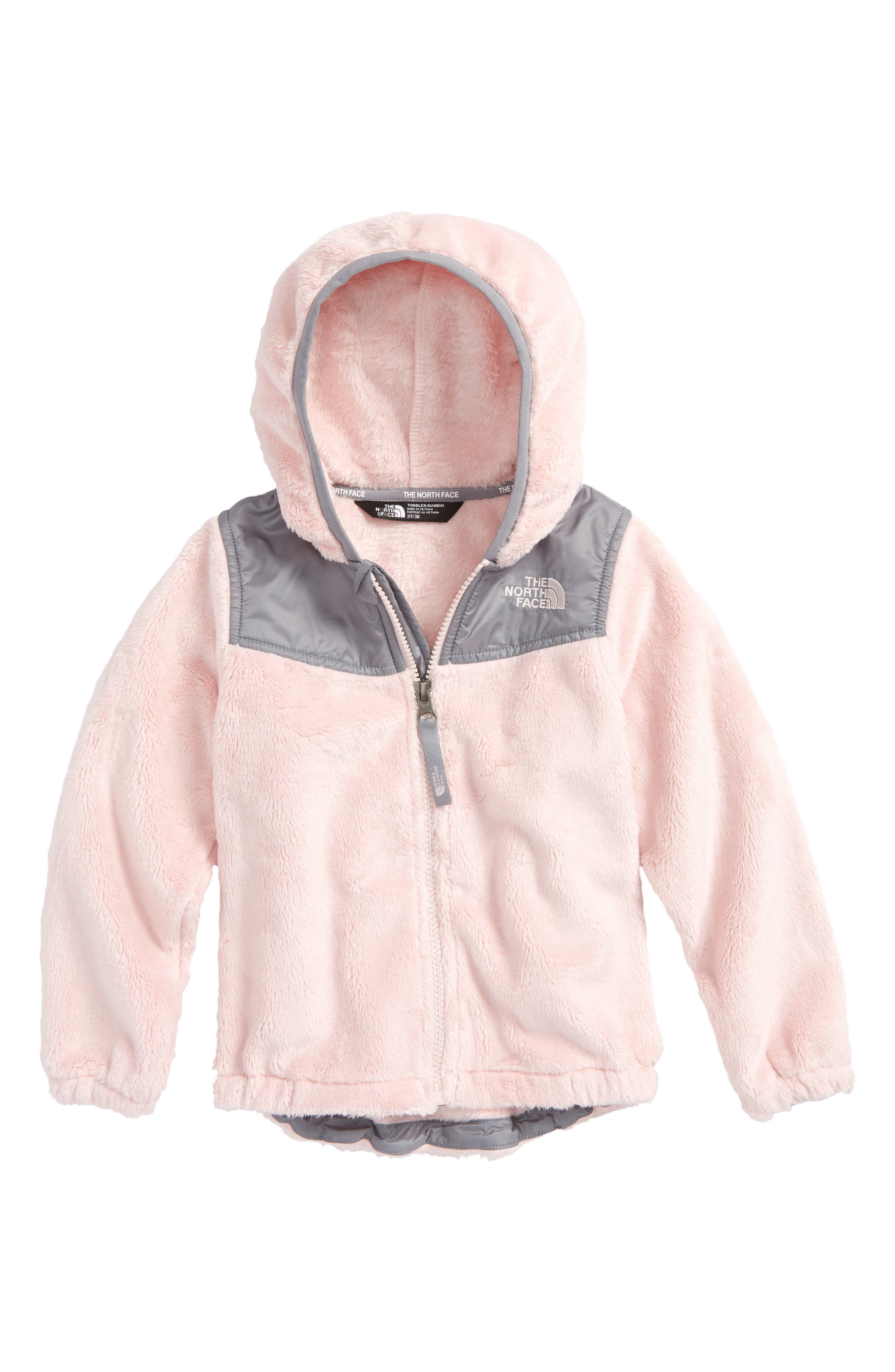 Oso Fleece Hoodie,                         Main,                         color, PURDY PINK