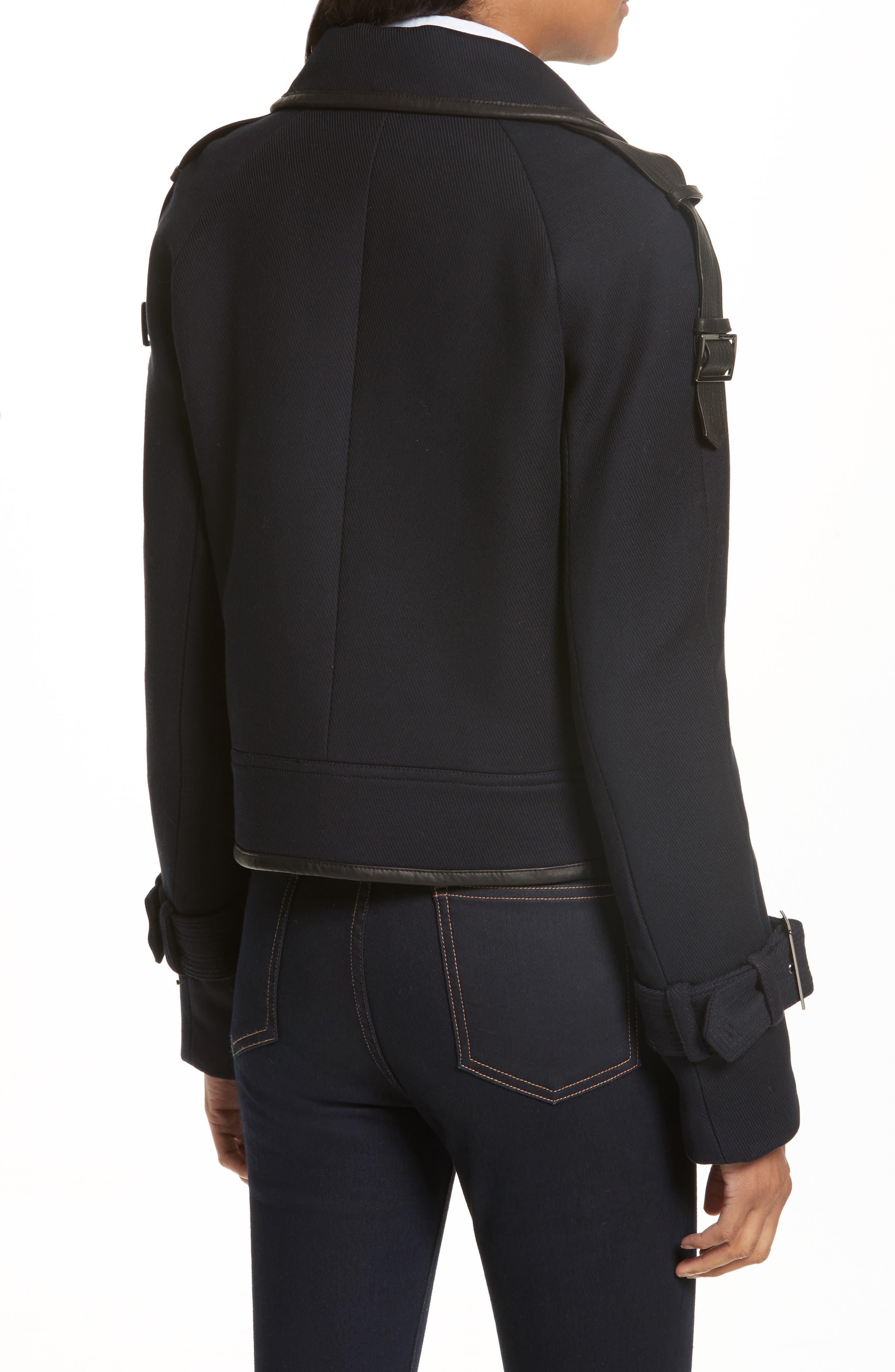 Lafayette Leather Trim Snap Jacket,                             Alternate thumbnail 2, color,                             410