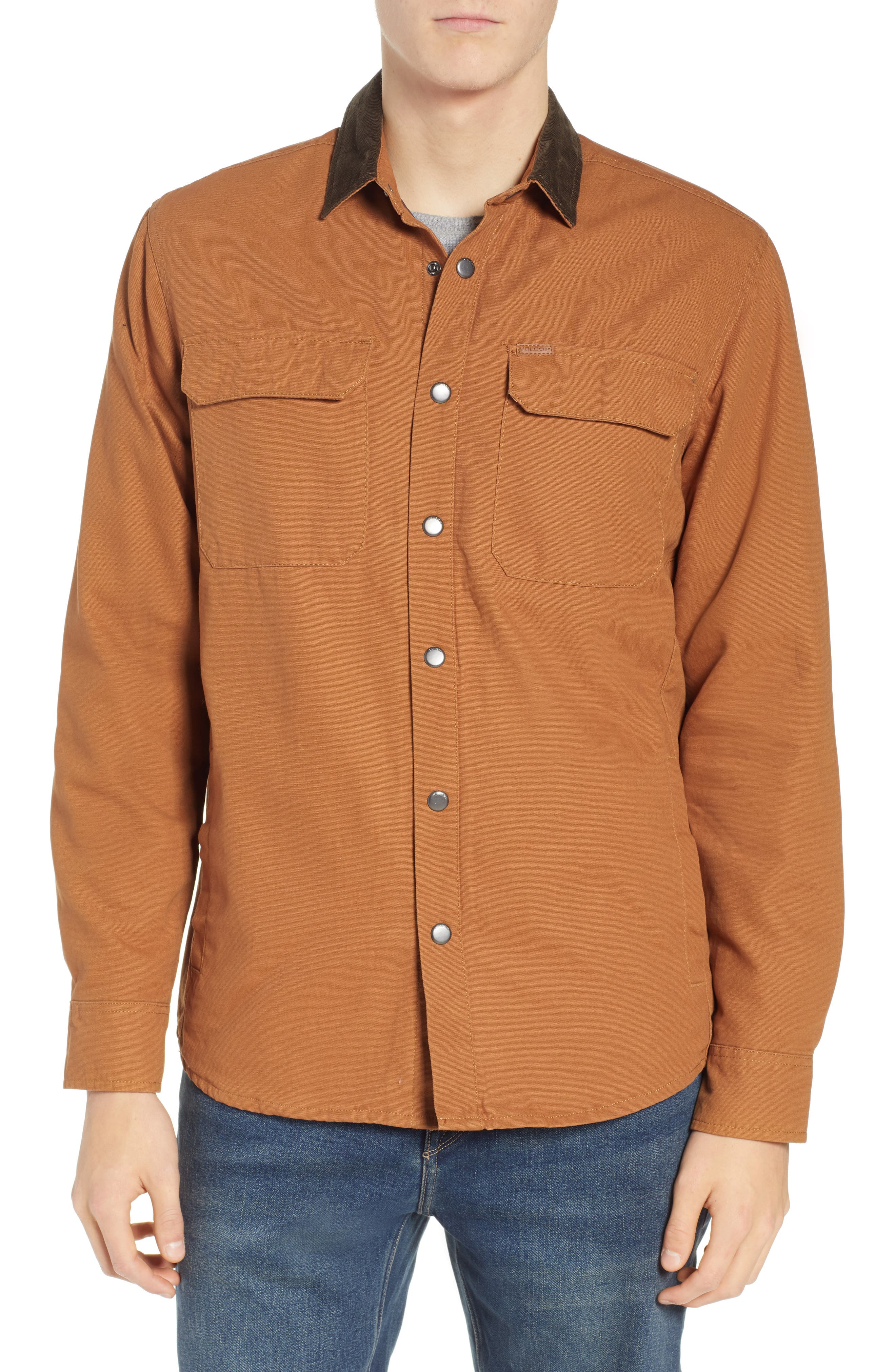 Larkin Classic Fit Jacket,                             Alternate thumbnail 4, color,                             CAMEL
