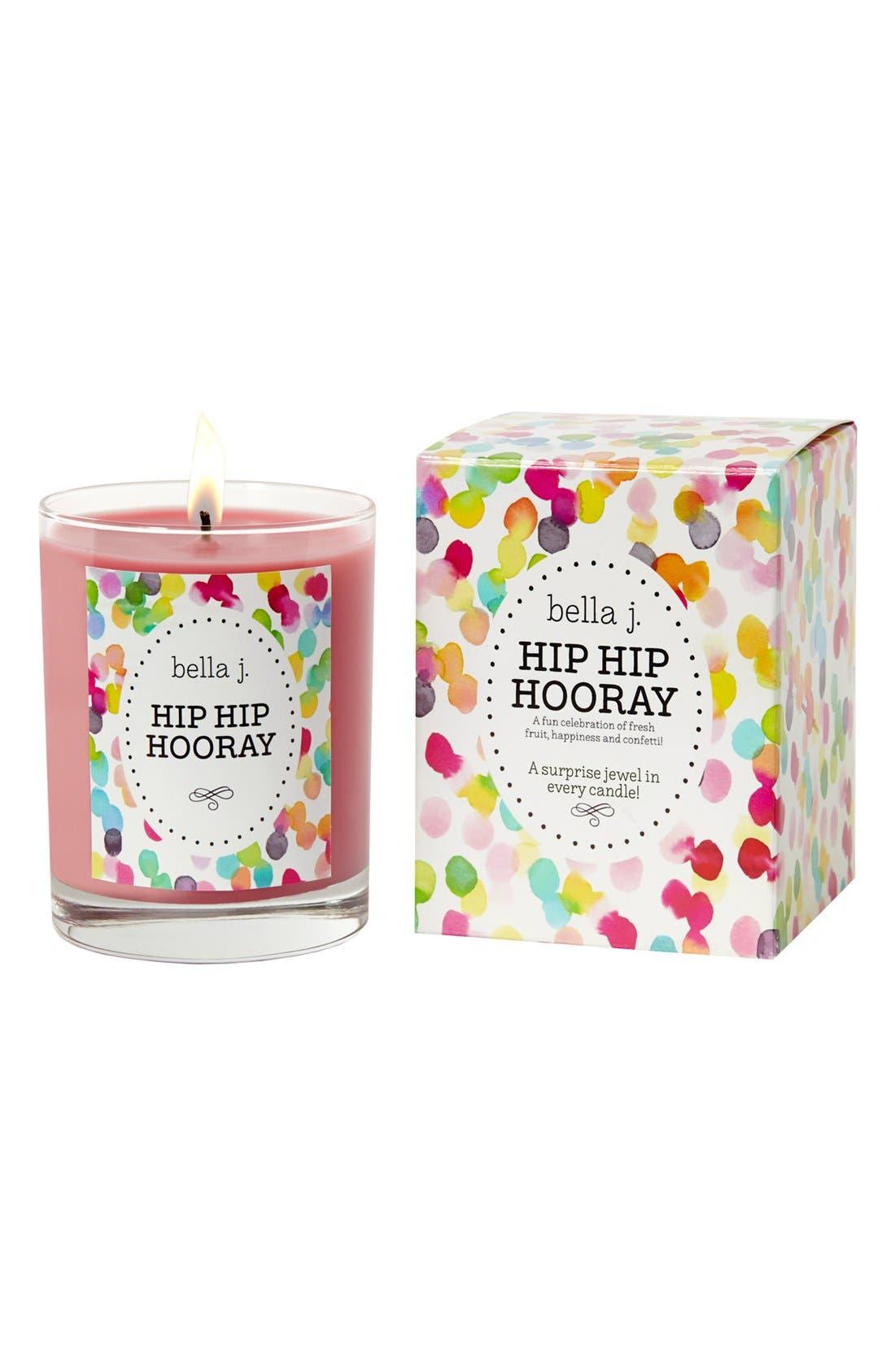 'Hip Hip Hooray' Candle,                             Main thumbnail 1, color,