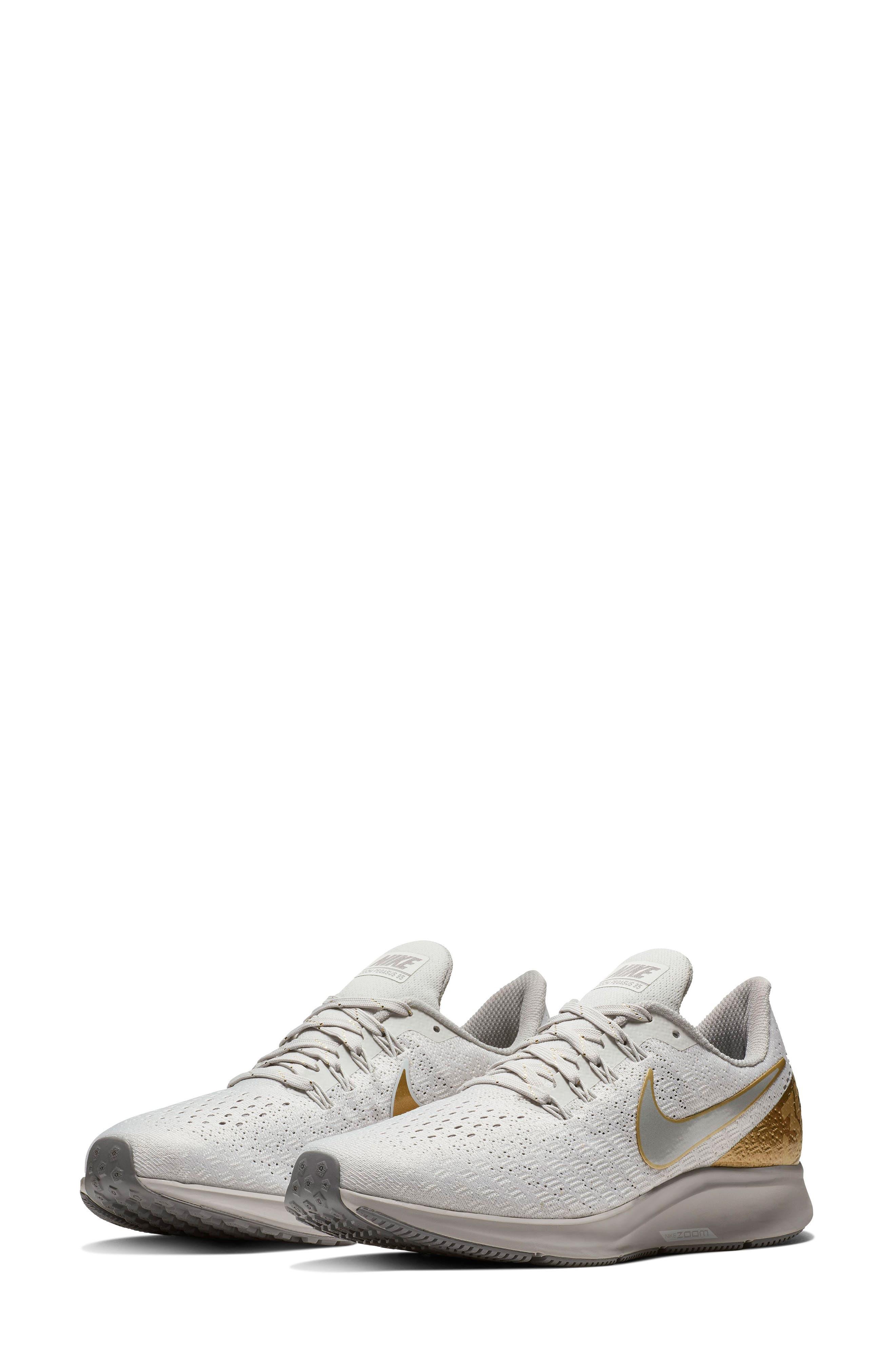 Air Zoom Pegasus 35 Premium Running Shoe,                             Main thumbnail 1, color,                             022