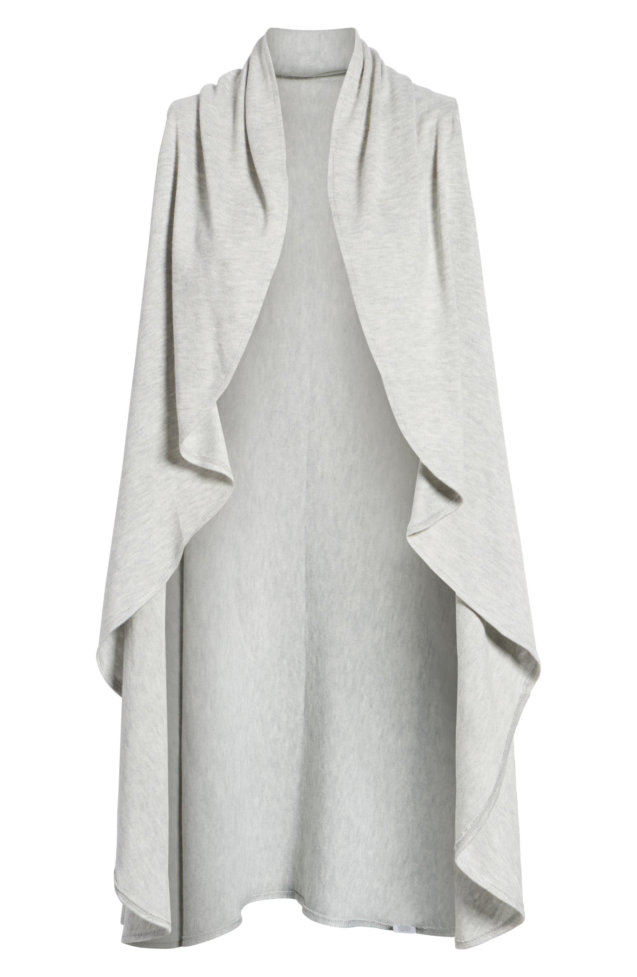 Essential Knit Vest,                             Alternate thumbnail 6, color,                             GREY SOFT HEATHER
