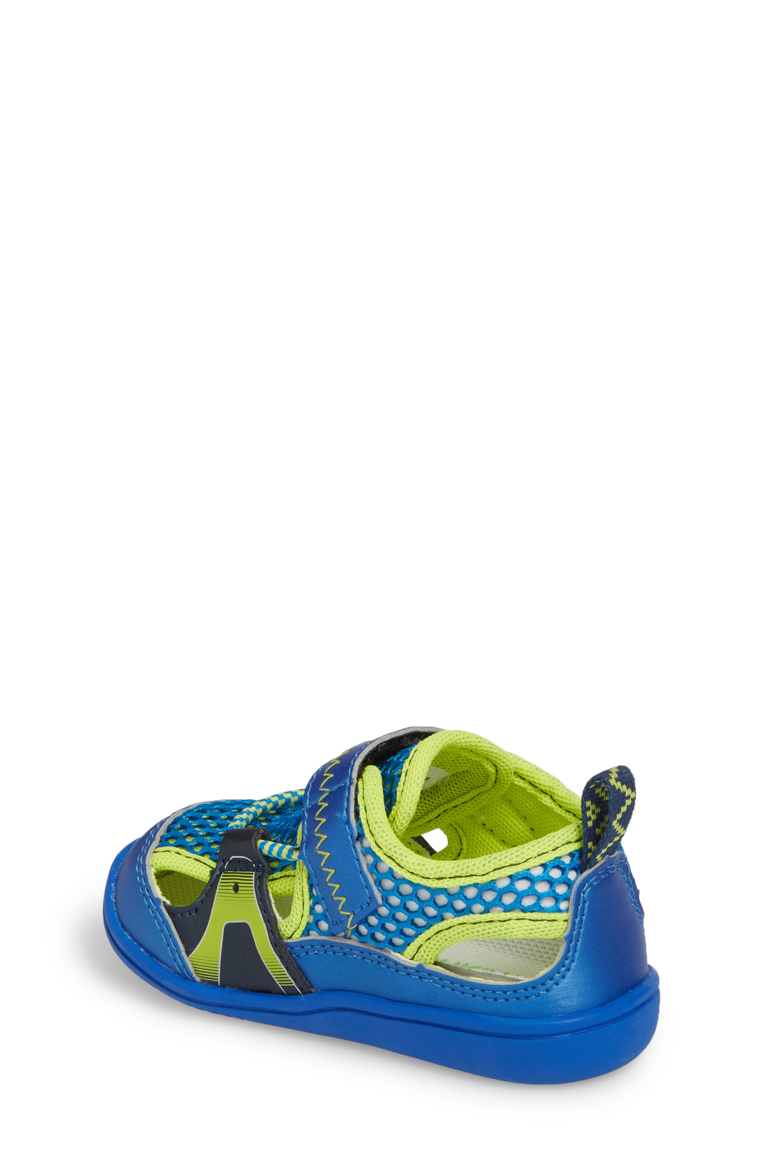 Ibiza Washable Sandal,                             Alternate thumbnail 2, color,                             ROYAL/ LIME