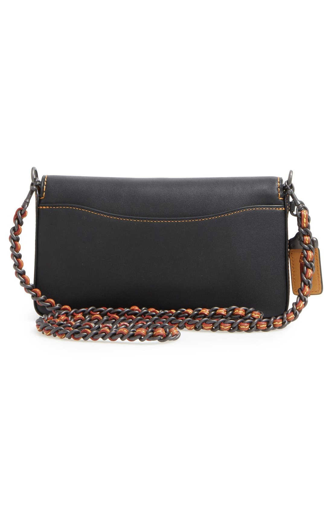 'Dinky' Leather Crossbody Bag,                             Alternate thumbnail 7, color,