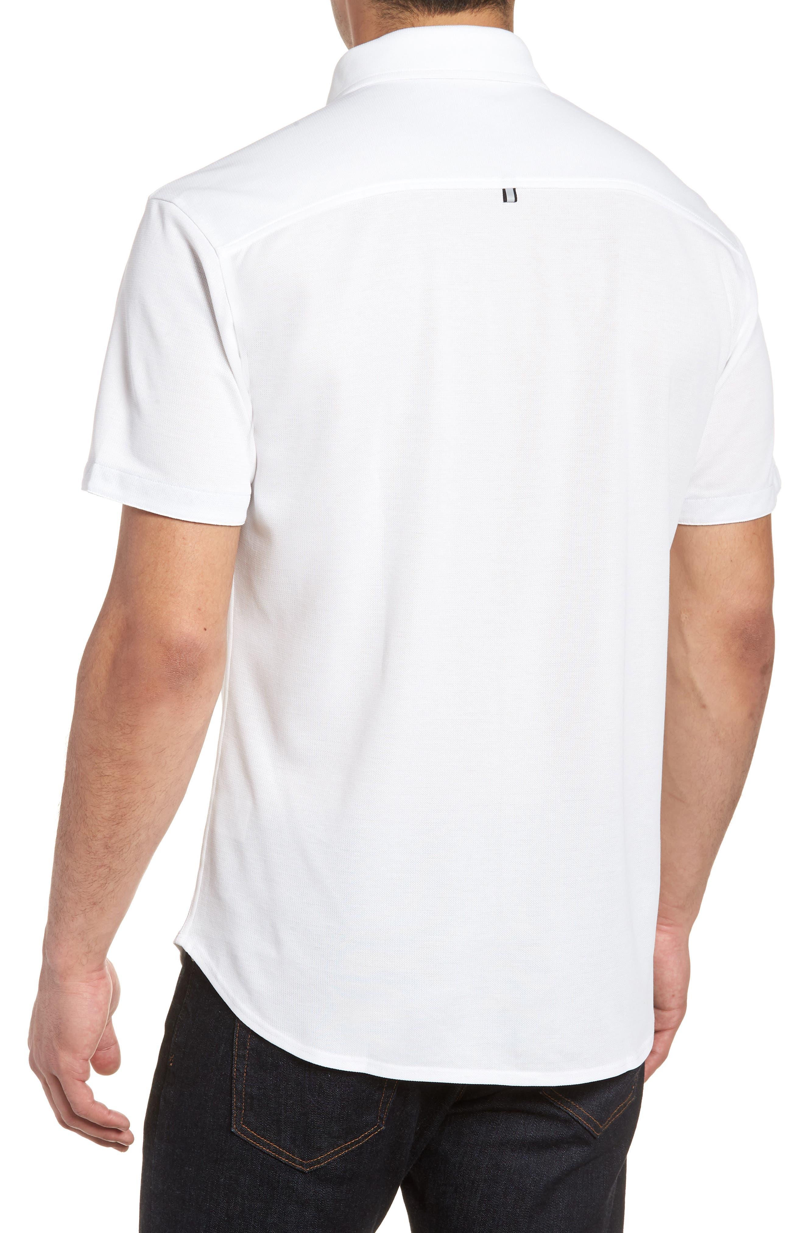 Knit Sport Shirt,                             Alternate thumbnail 2, color,                             100