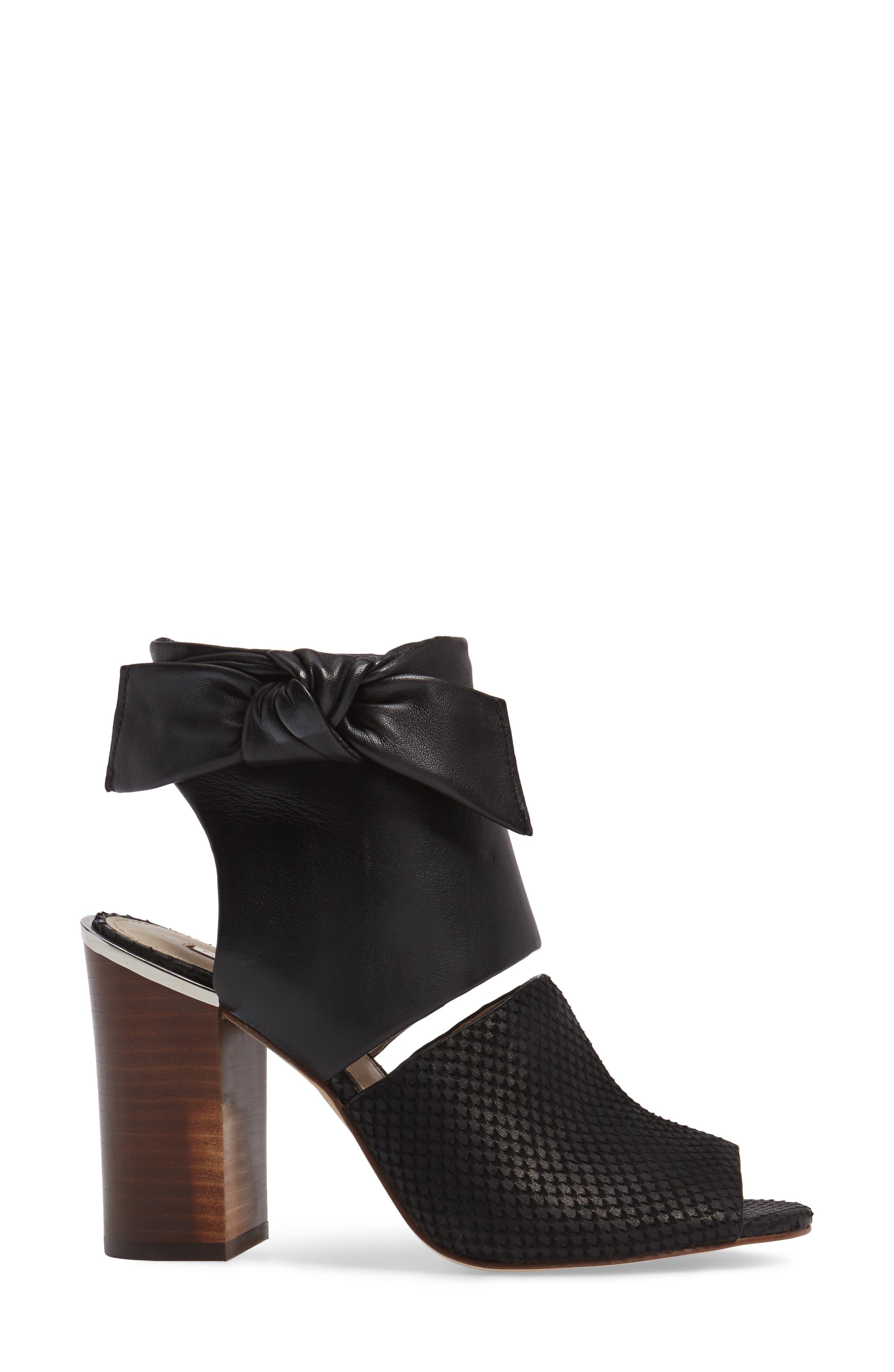Louise et Cit Katlin Block Heel Sandal,                             Alternate thumbnail 3, color,                             001
