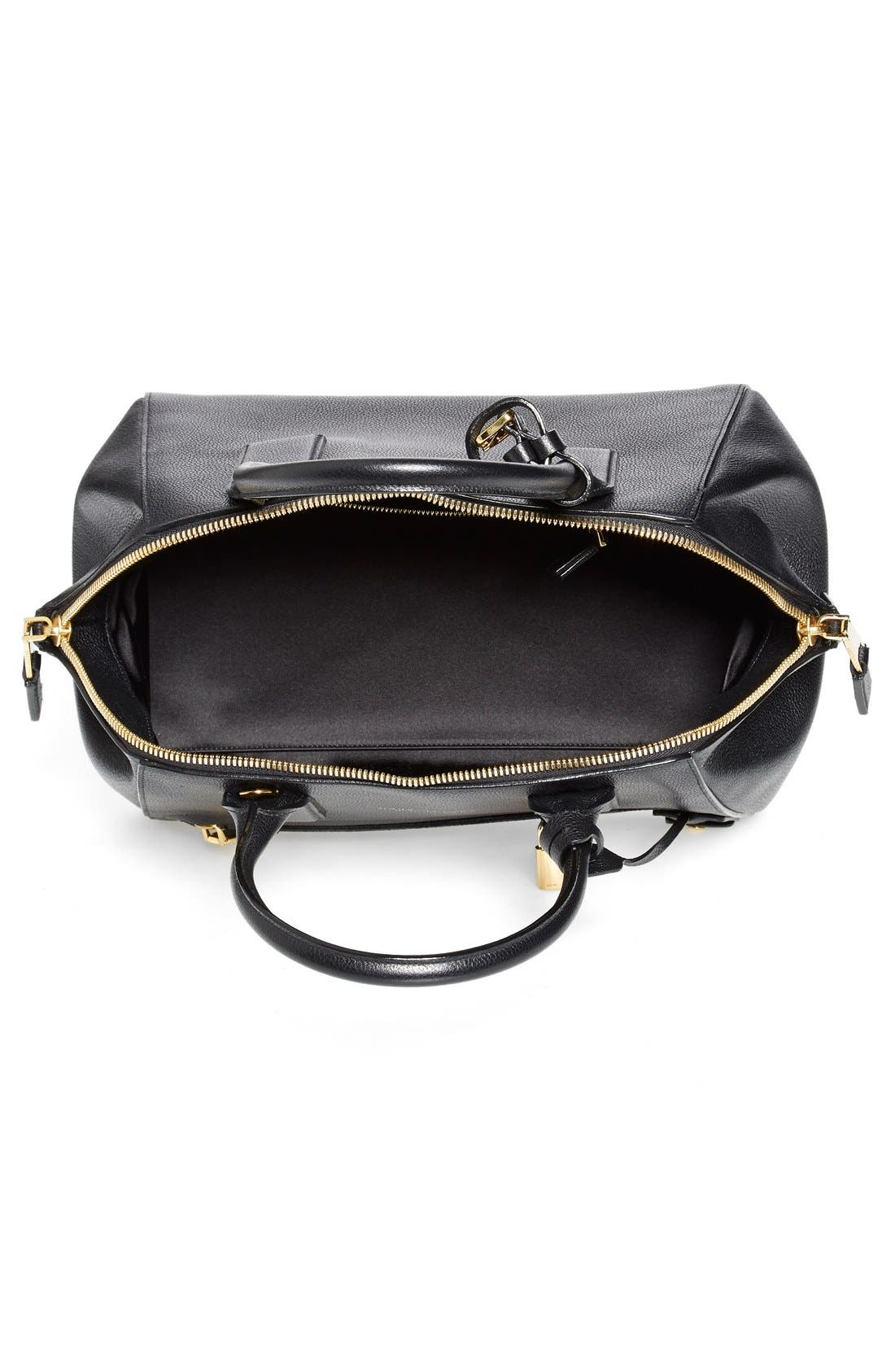 'Small Incognito' Leather Satchel,                             Alternate thumbnail 2, color,                             001