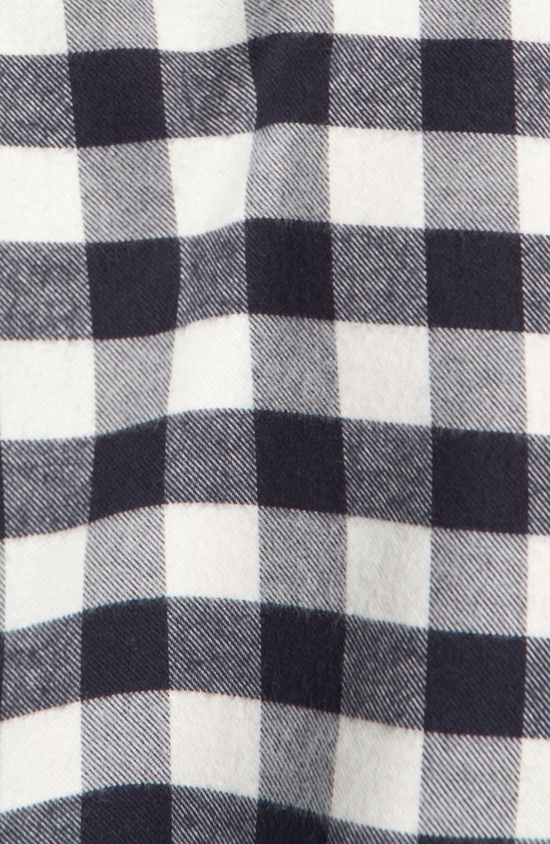 Check Cotton Flannel Shirt,                             Alternate thumbnail 3, color,                             420