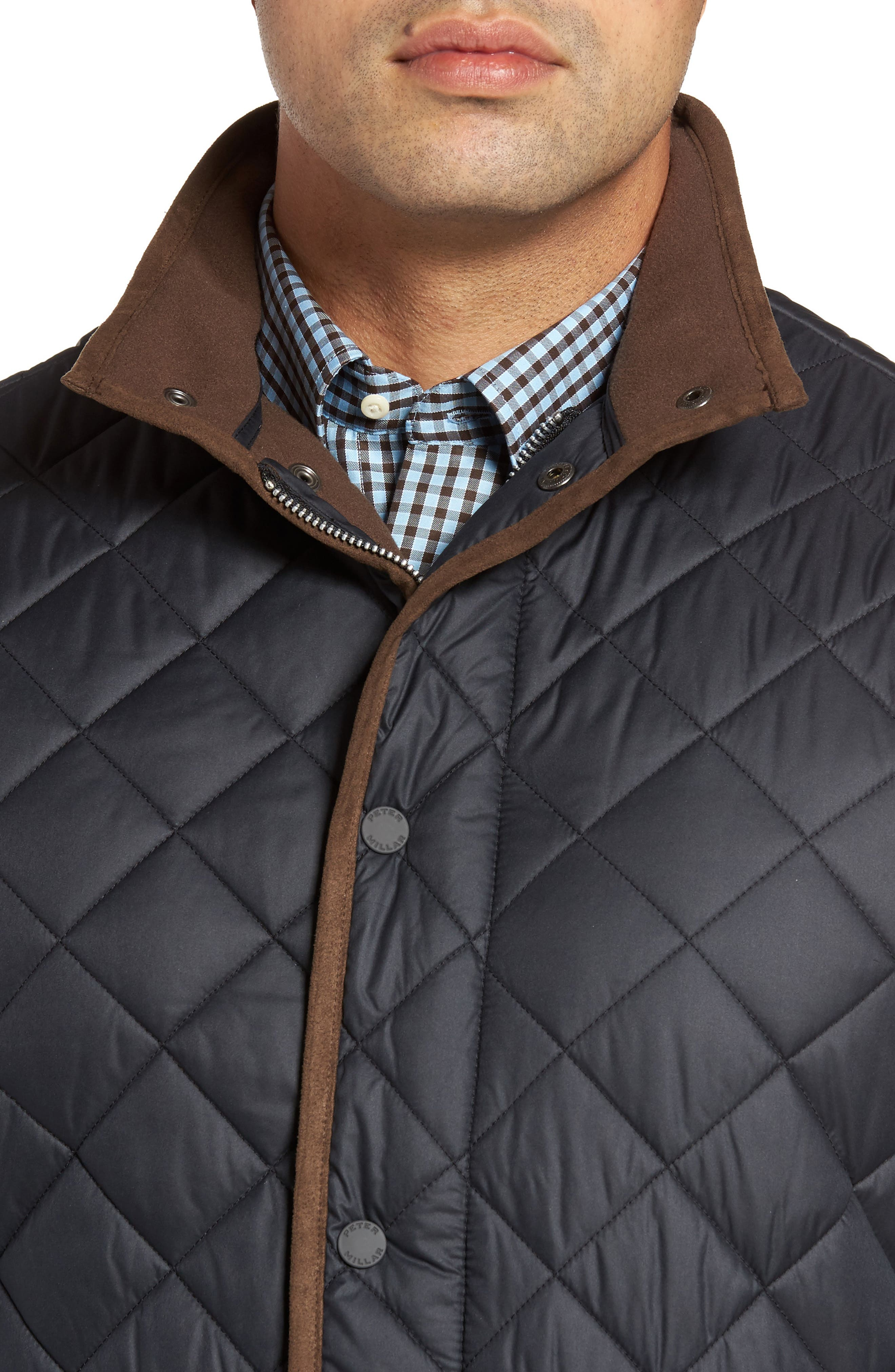 Essex Quilted Vest,                             Alternate thumbnail 4, color,                             001