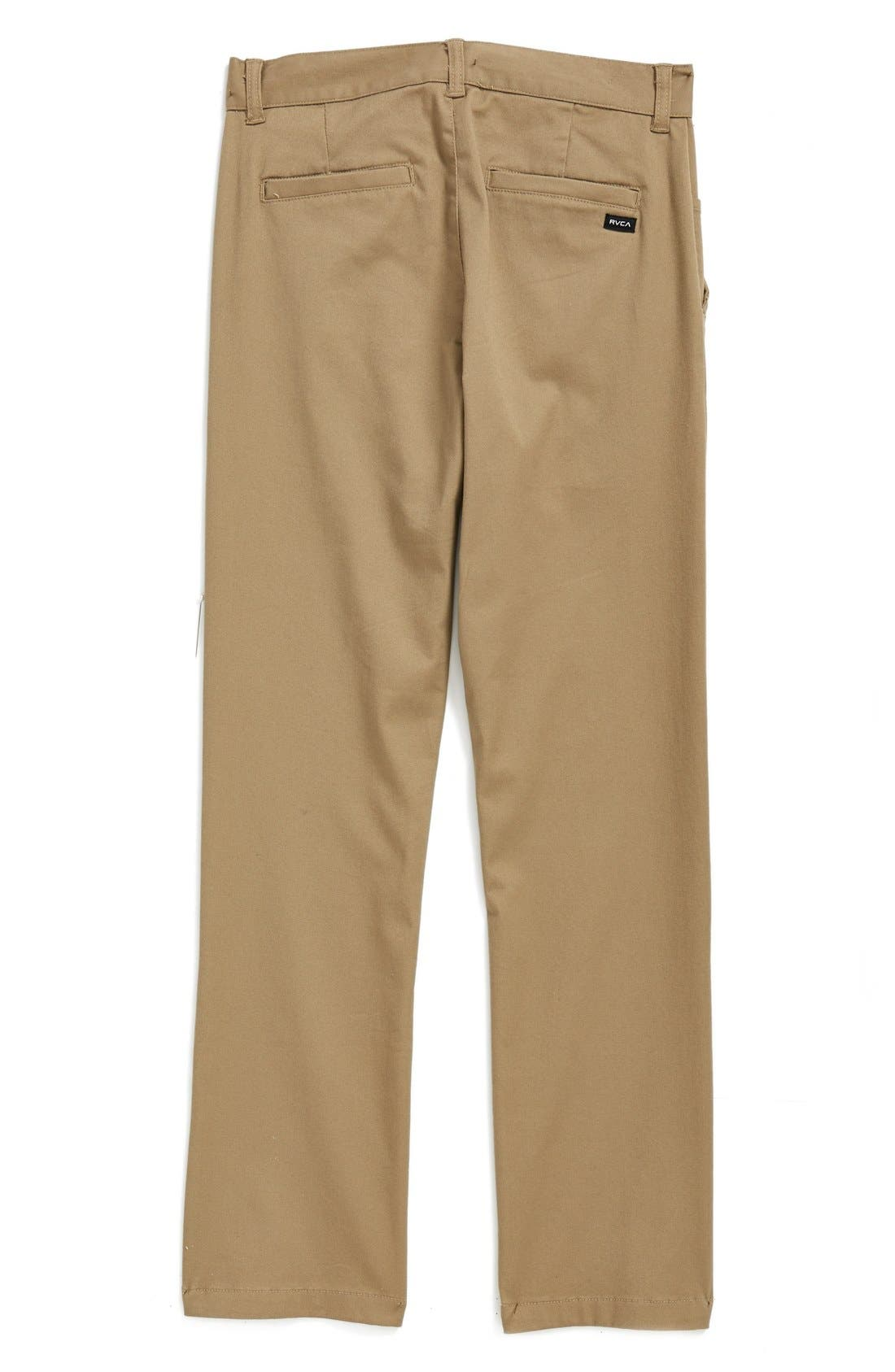 'Weekday' Stretch Chinos,                             Alternate thumbnail 10, color,