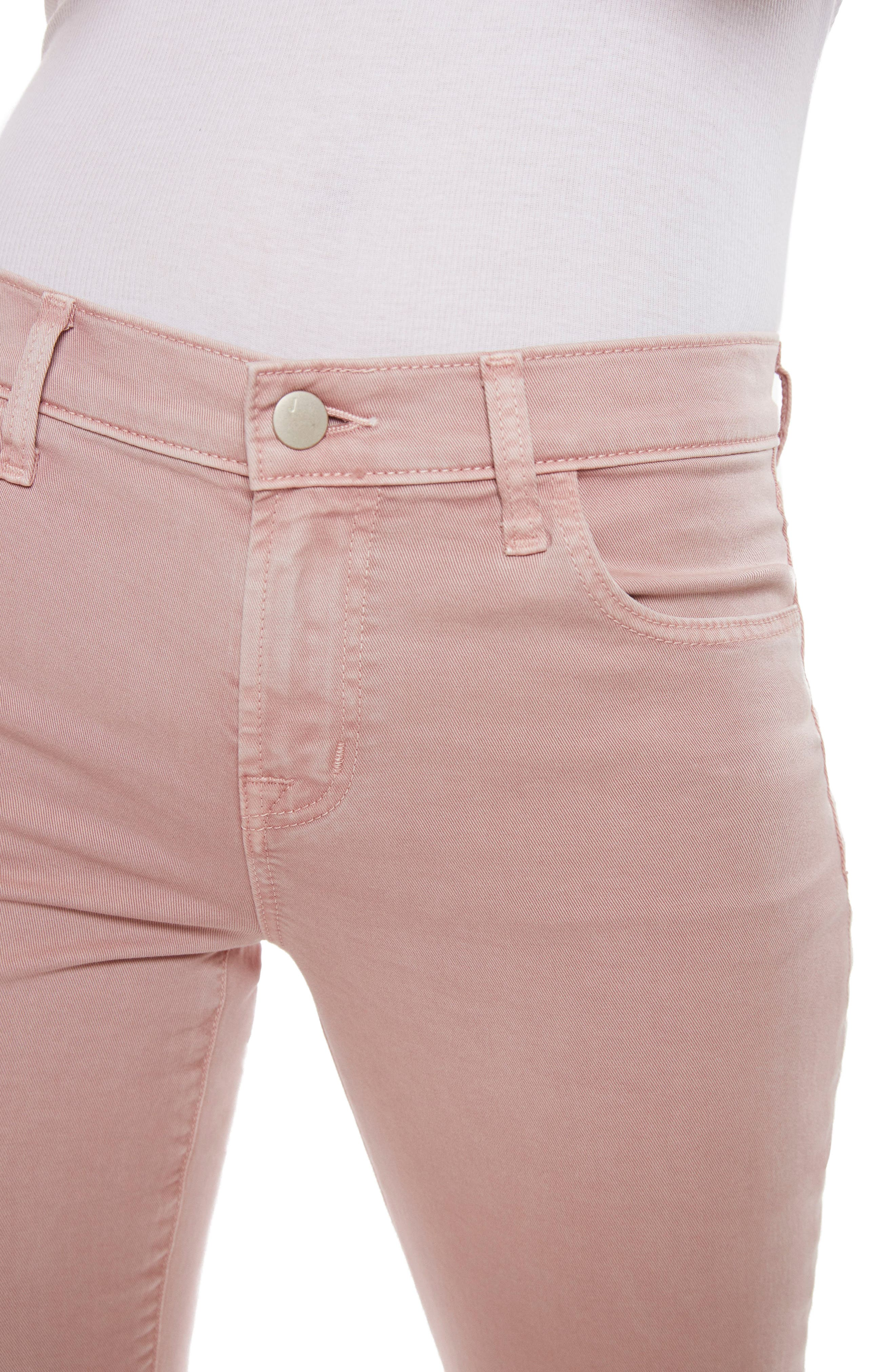 Selena Crop Bootcut Jeans,                             Alternate thumbnail 4, color,                             660