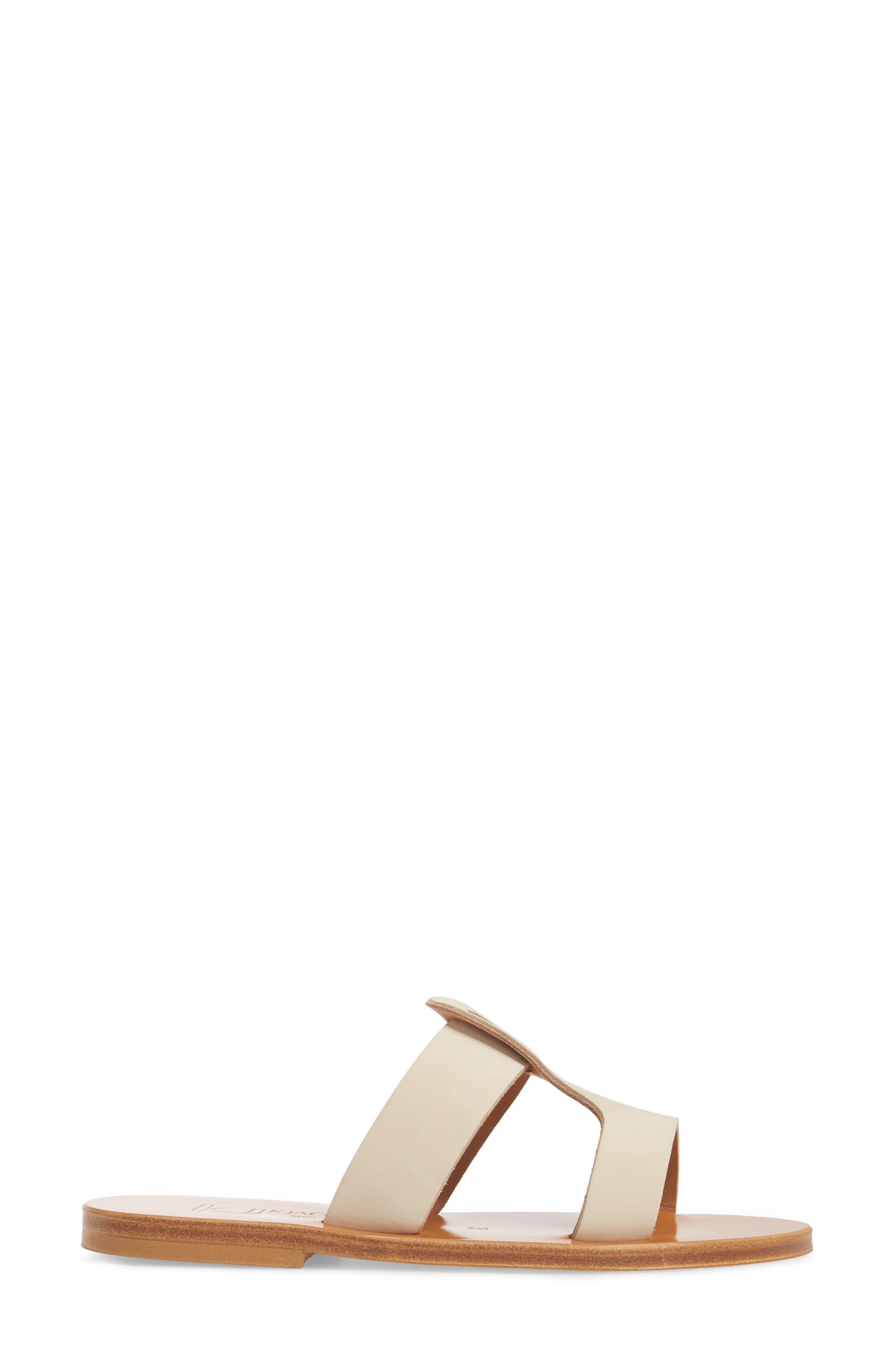 K. Jacques St. Tropez Slide Sandal,                             Alternate thumbnail 6, color,