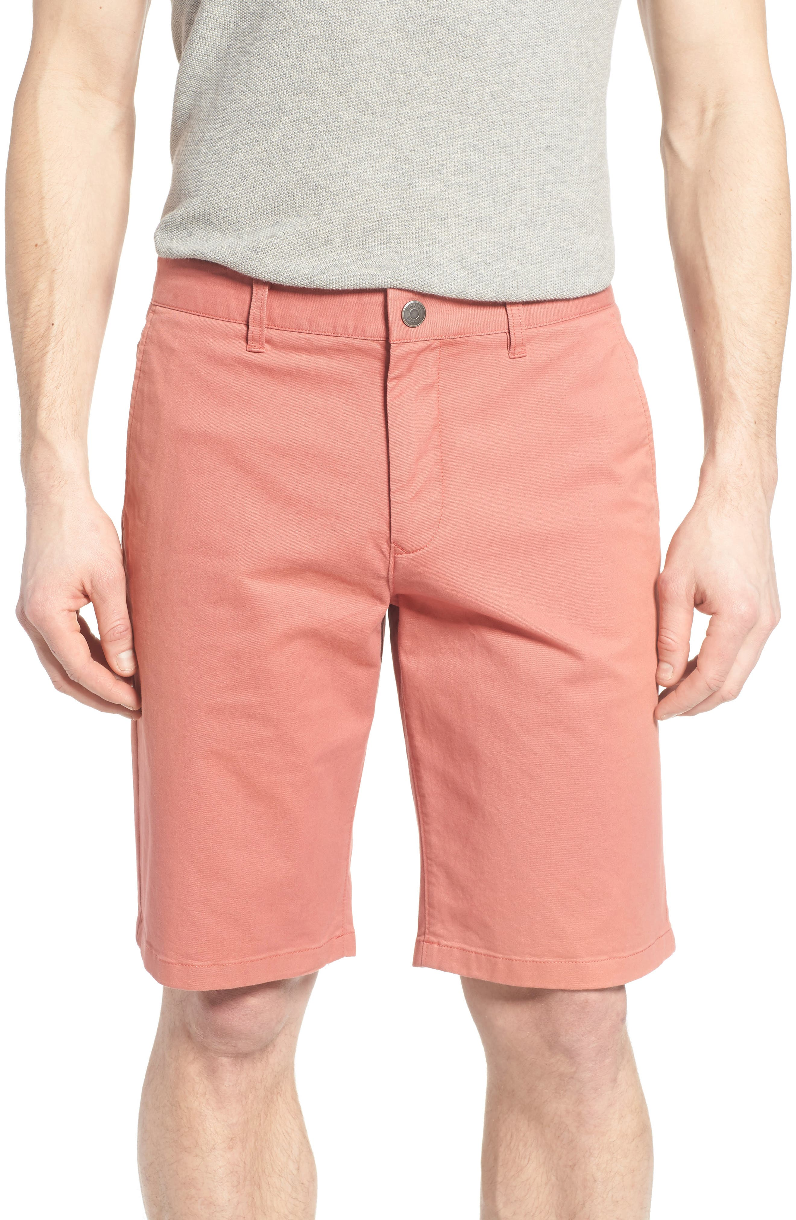 Stretch Washed Chino 11-Inch Shorts,                             Main thumbnail 21, color,