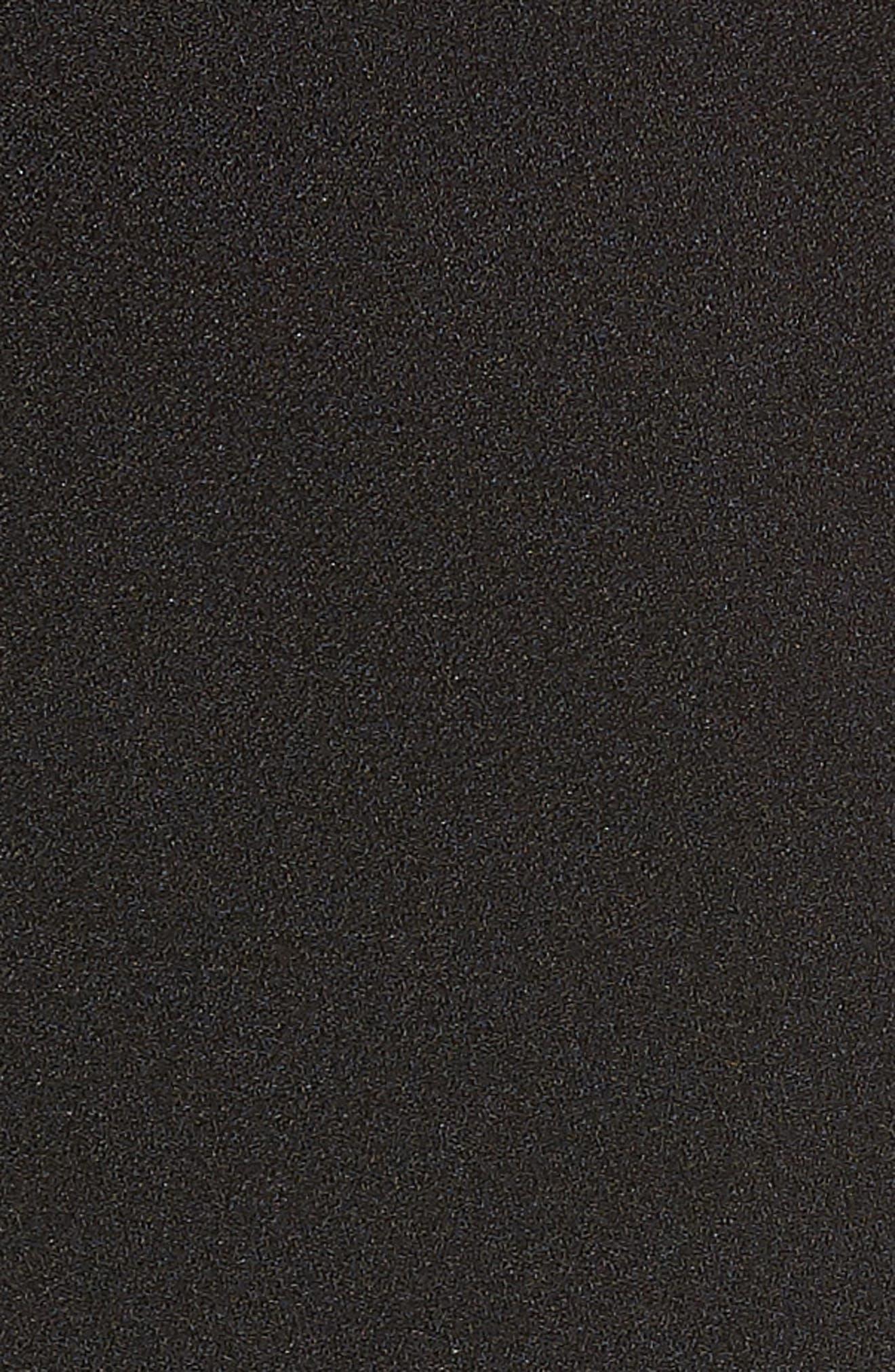 Bow Back Sheath Dress,                             Alternate thumbnail 6, color,                             001