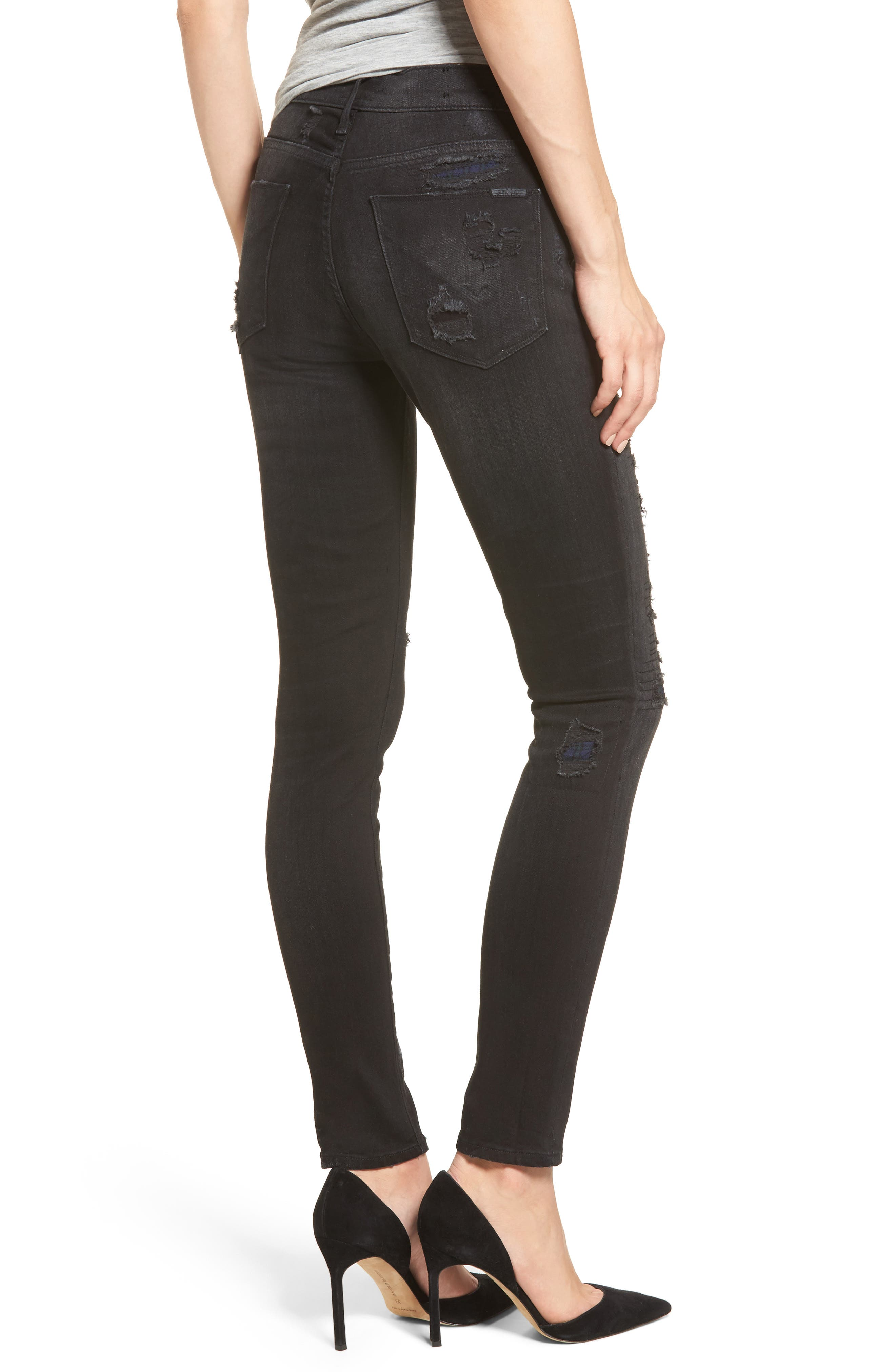Nico Ripped Super Skinny Jeans,                             Alternate thumbnail 2, color,                             003