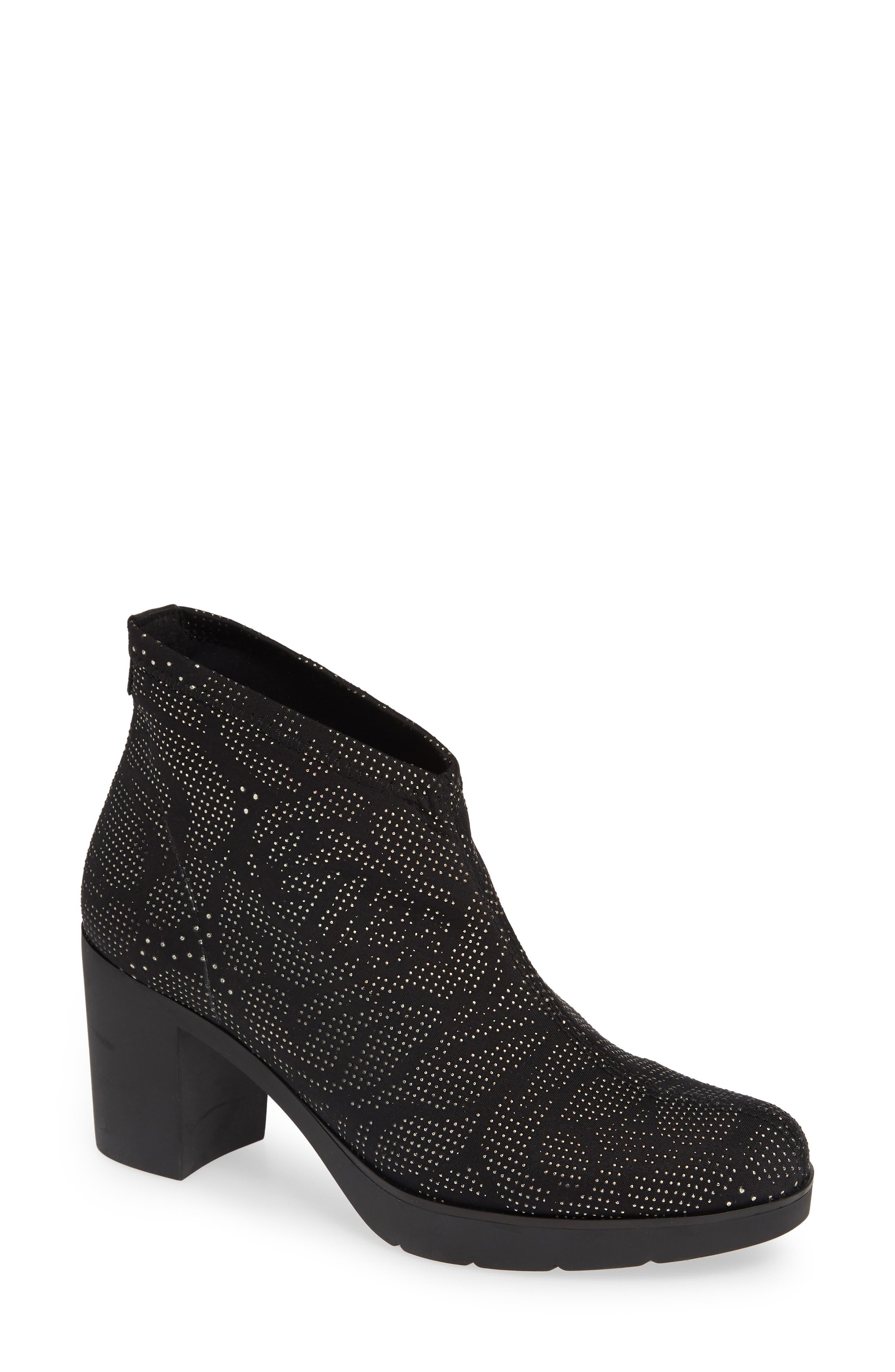 TONI PONS 'Finley' Bootie (Women) in Black Fabric