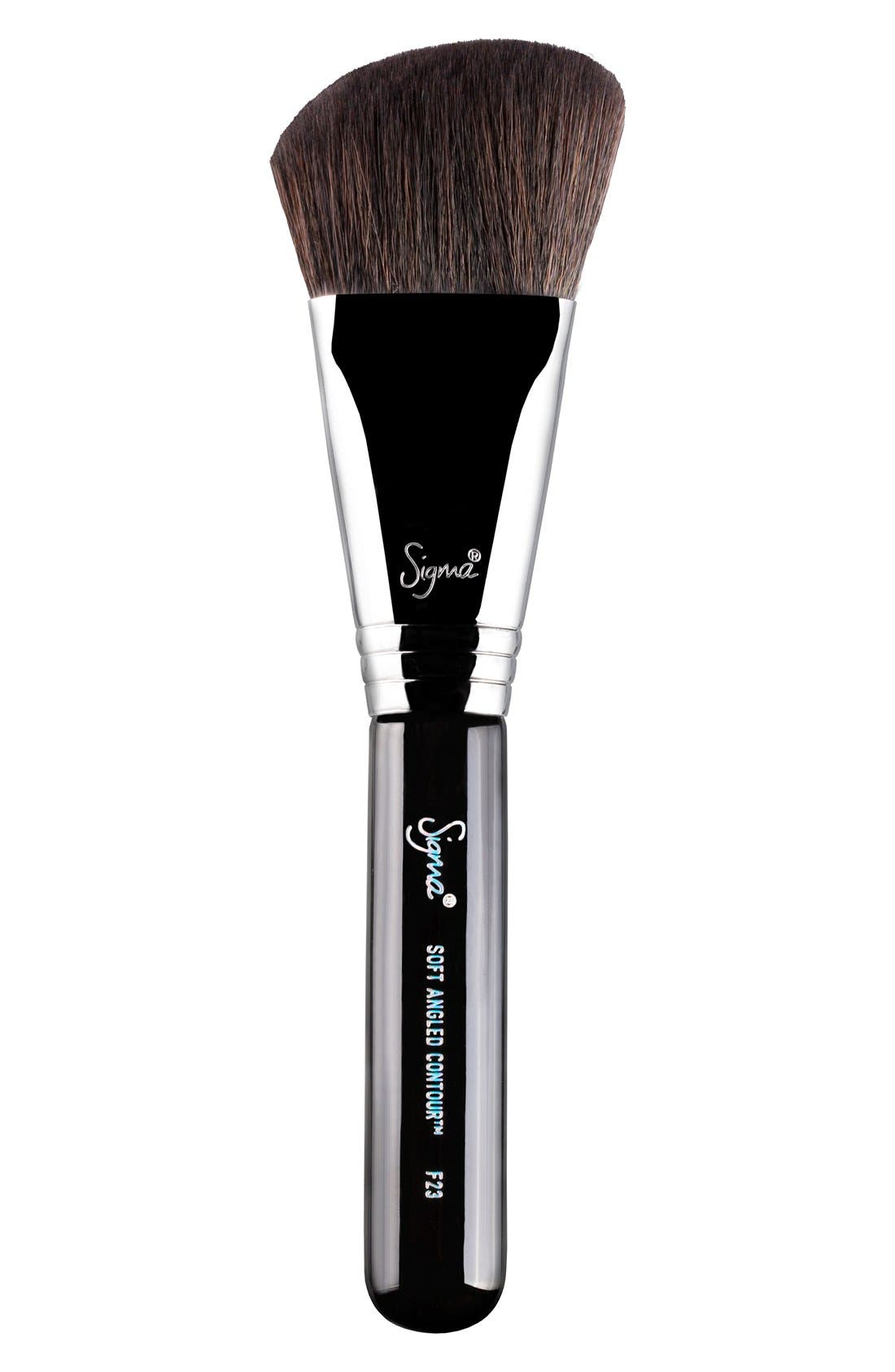 F23 Soft Angled Contour<sup>™</sup> Brush,                         Main,                         color, NO COLOR