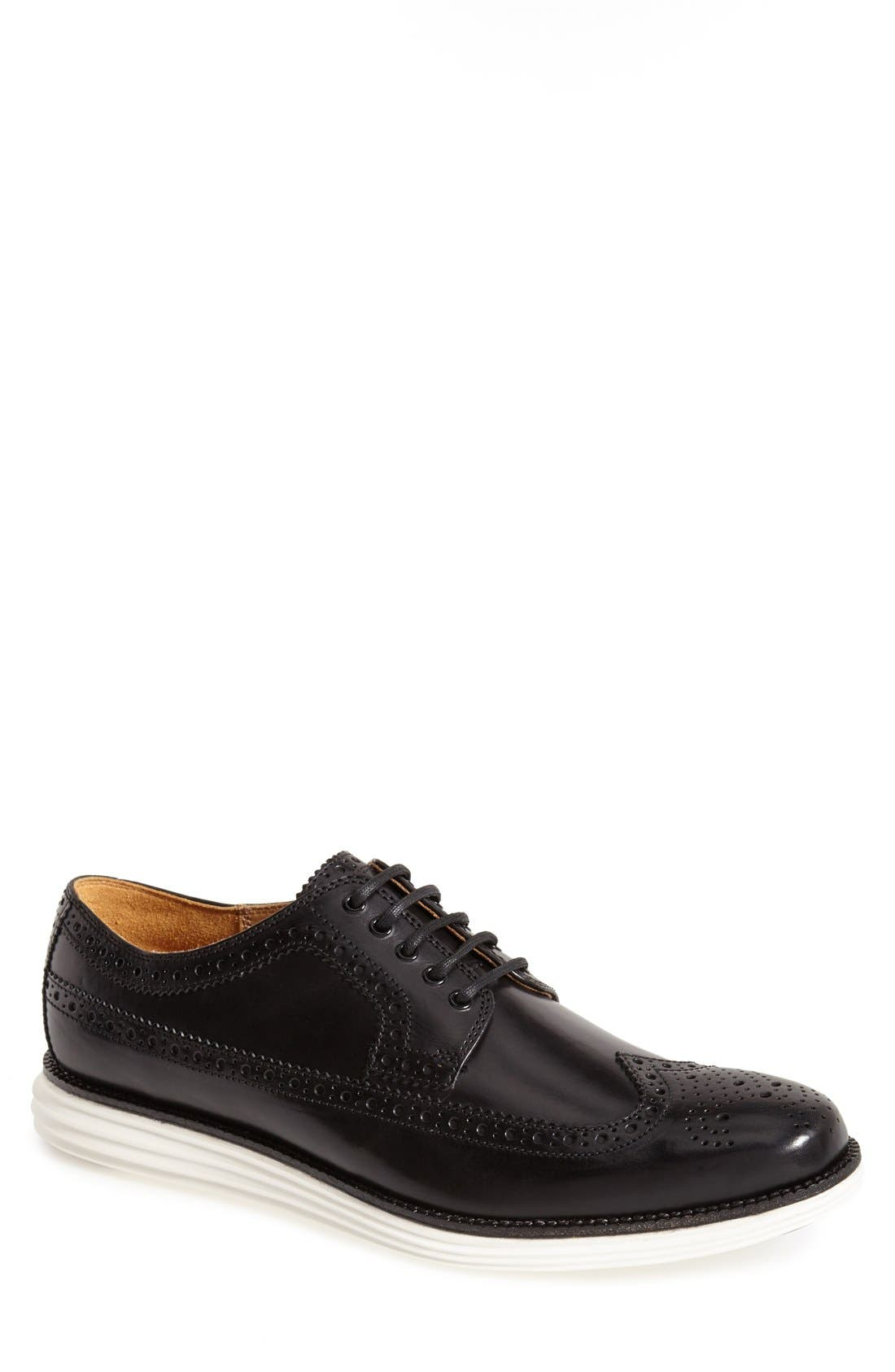 COLE HAAN 'LunarGrand' Wingtip, Main, color, 001