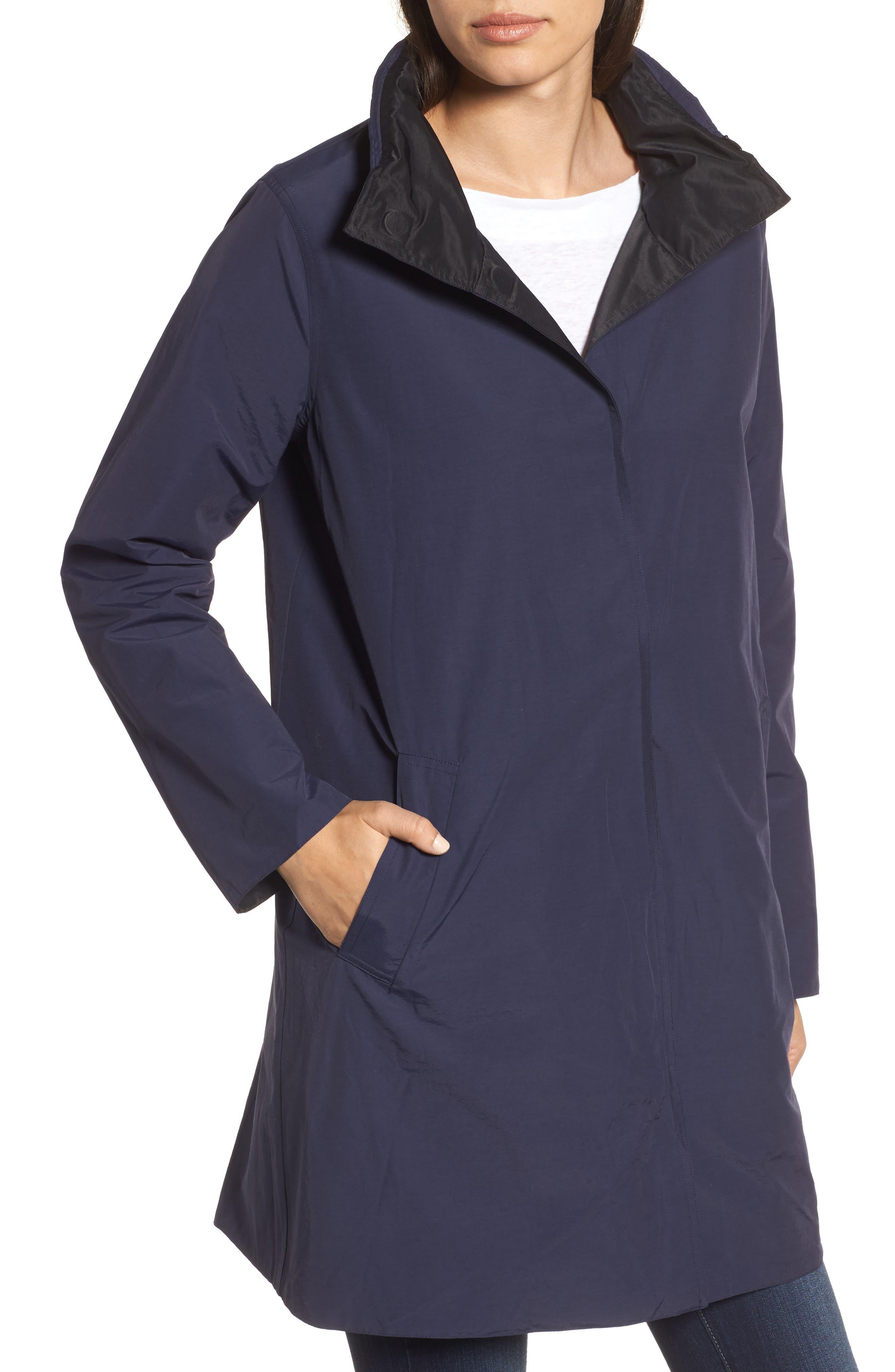 Reversible A-Line Coat,                             Alternate thumbnail 4, color,                             006