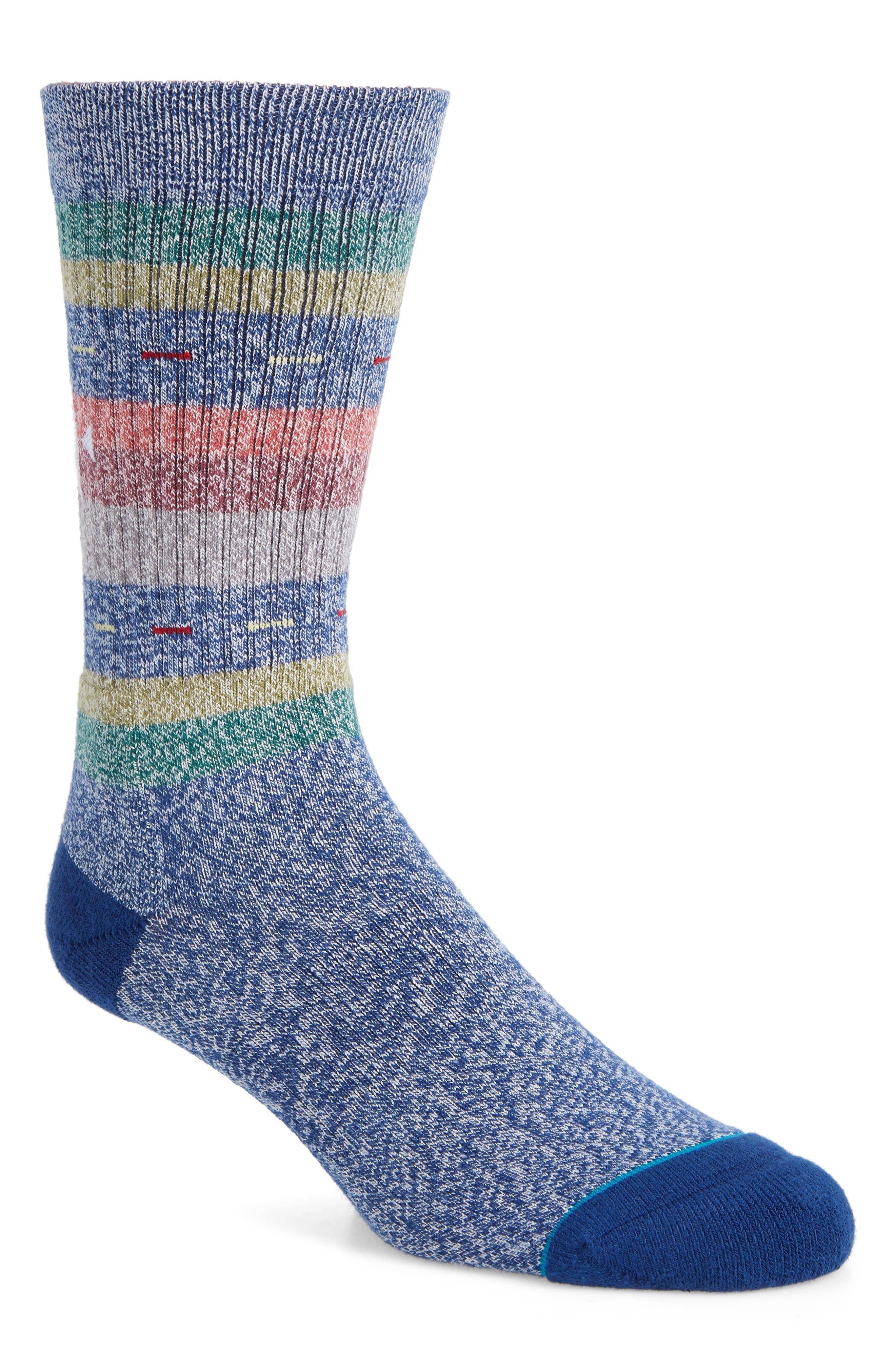 Vaucluse Stripe Socks,                             Main thumbnail 1, color,                             410