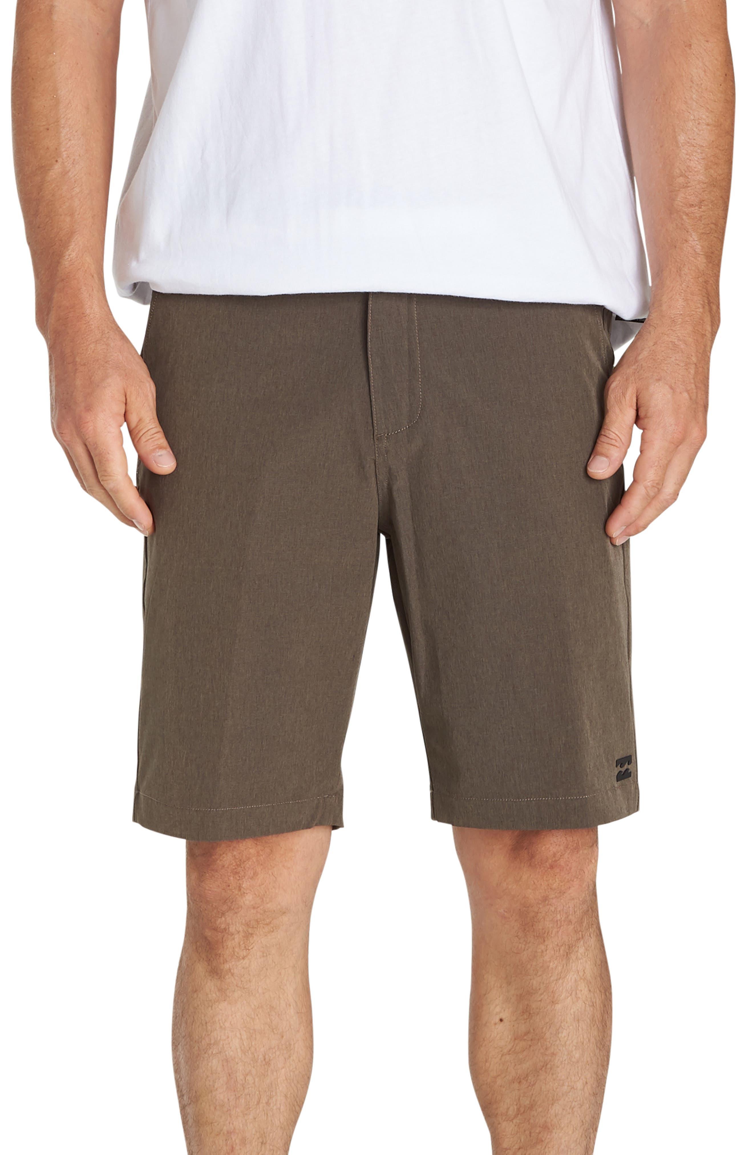 Billabong Crossfire X Mid-Length Shorts, Brown